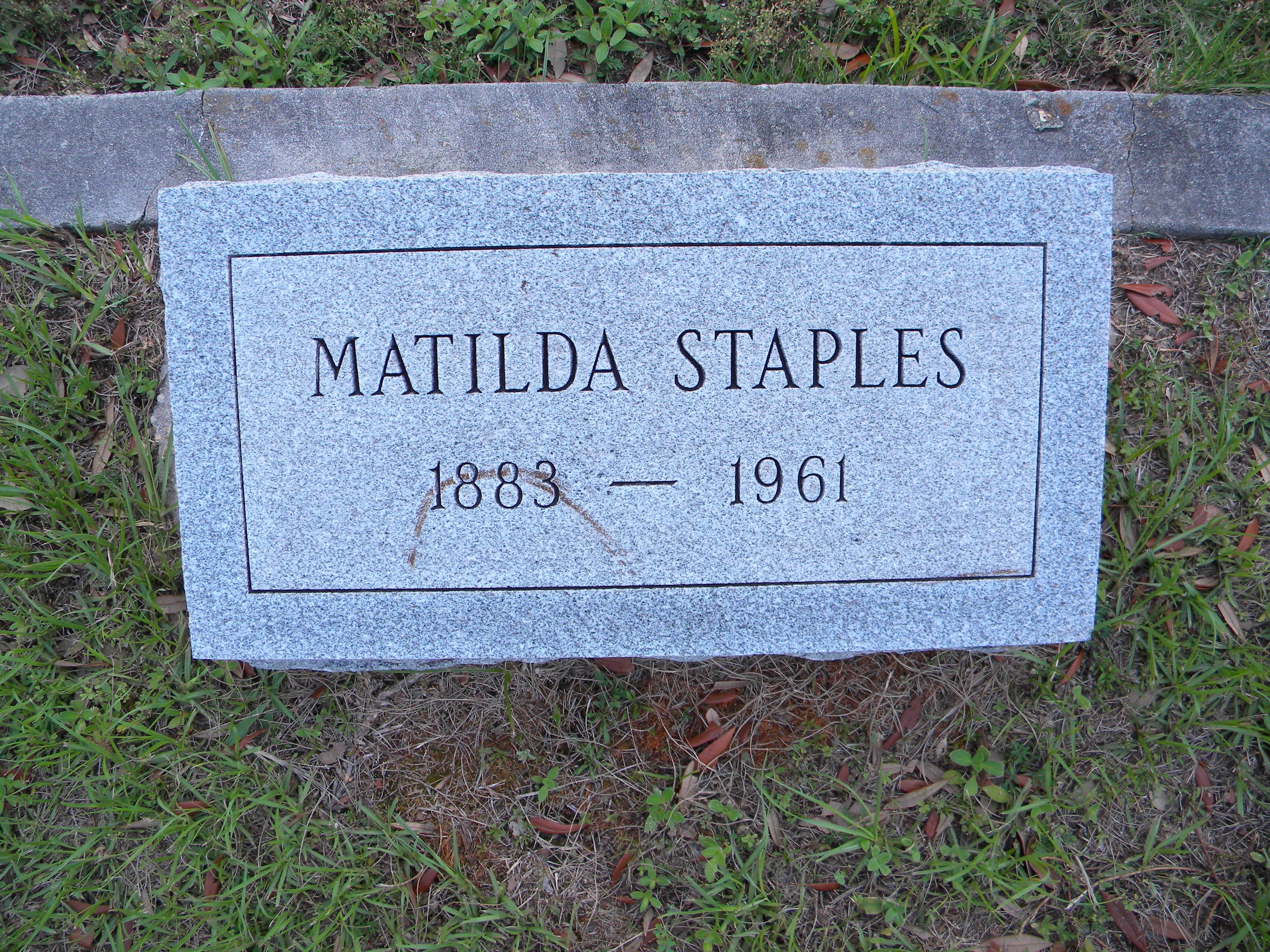 Matilda Staples