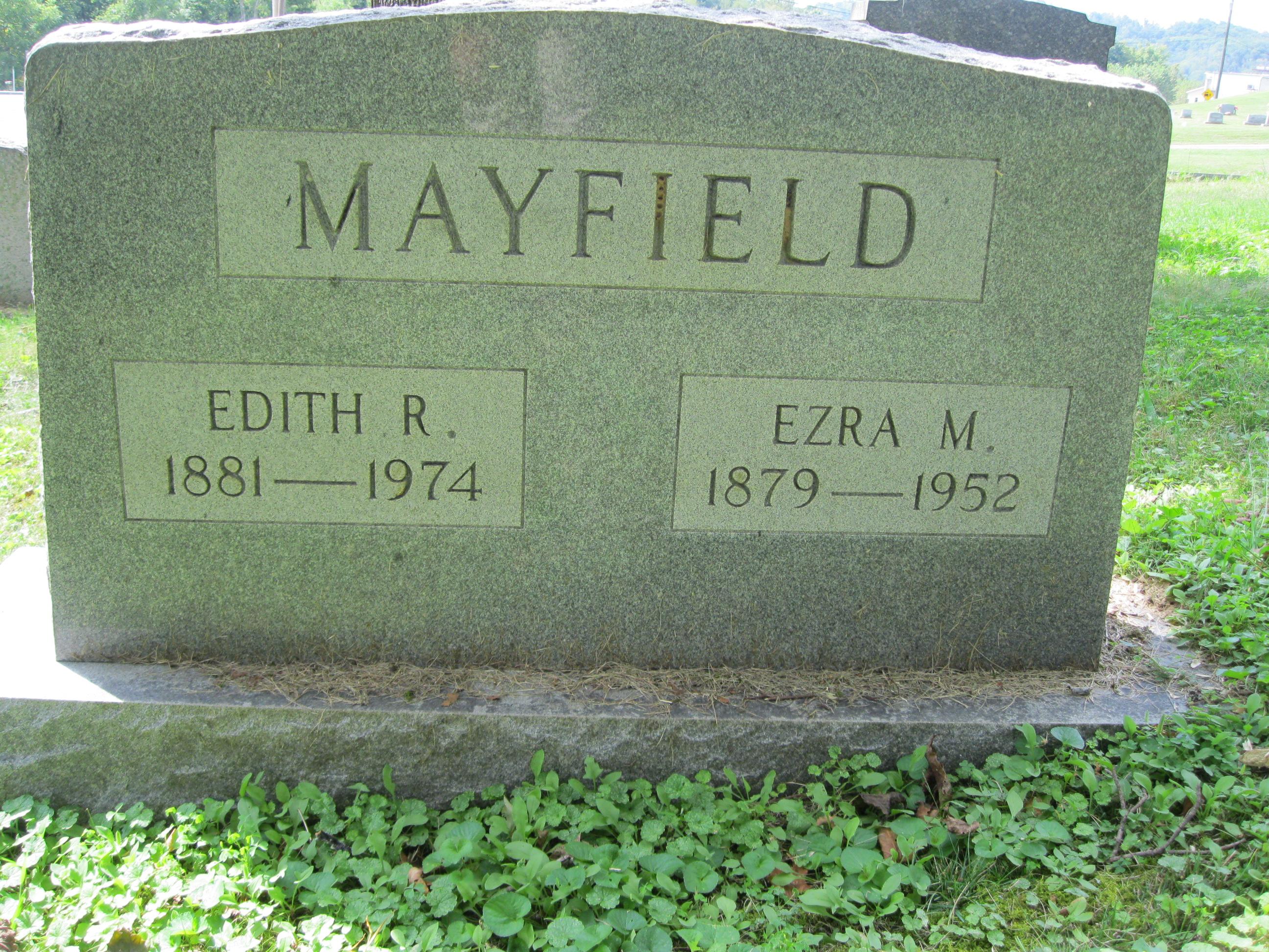 Edith E. <i>Roome</i> Mayfield