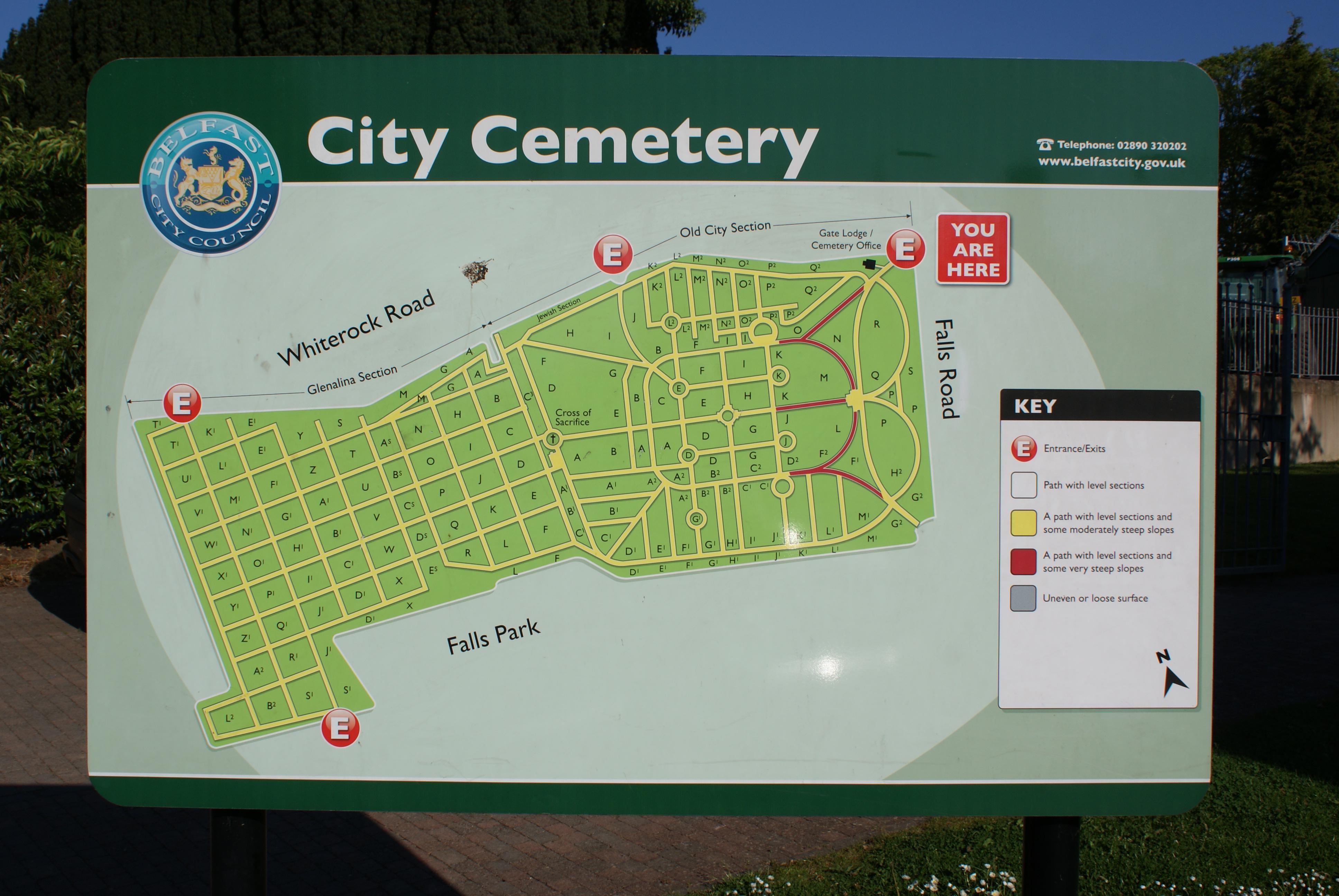Belfast City Cemetery in Belfast, County Antrim - Find A ... on goteborg city map, erfurt city map, ellsworth city map, cuenca city map, limassol city map, solitude city map, rijeka city map, a coruna city map, bolivar city map, waterville city map, delray beach city map, bulawayo city map, fortaleza city map, alma city map, santos city map, ennis city map, dingle city map, fife city map, pomeroy city map, yantai city map,