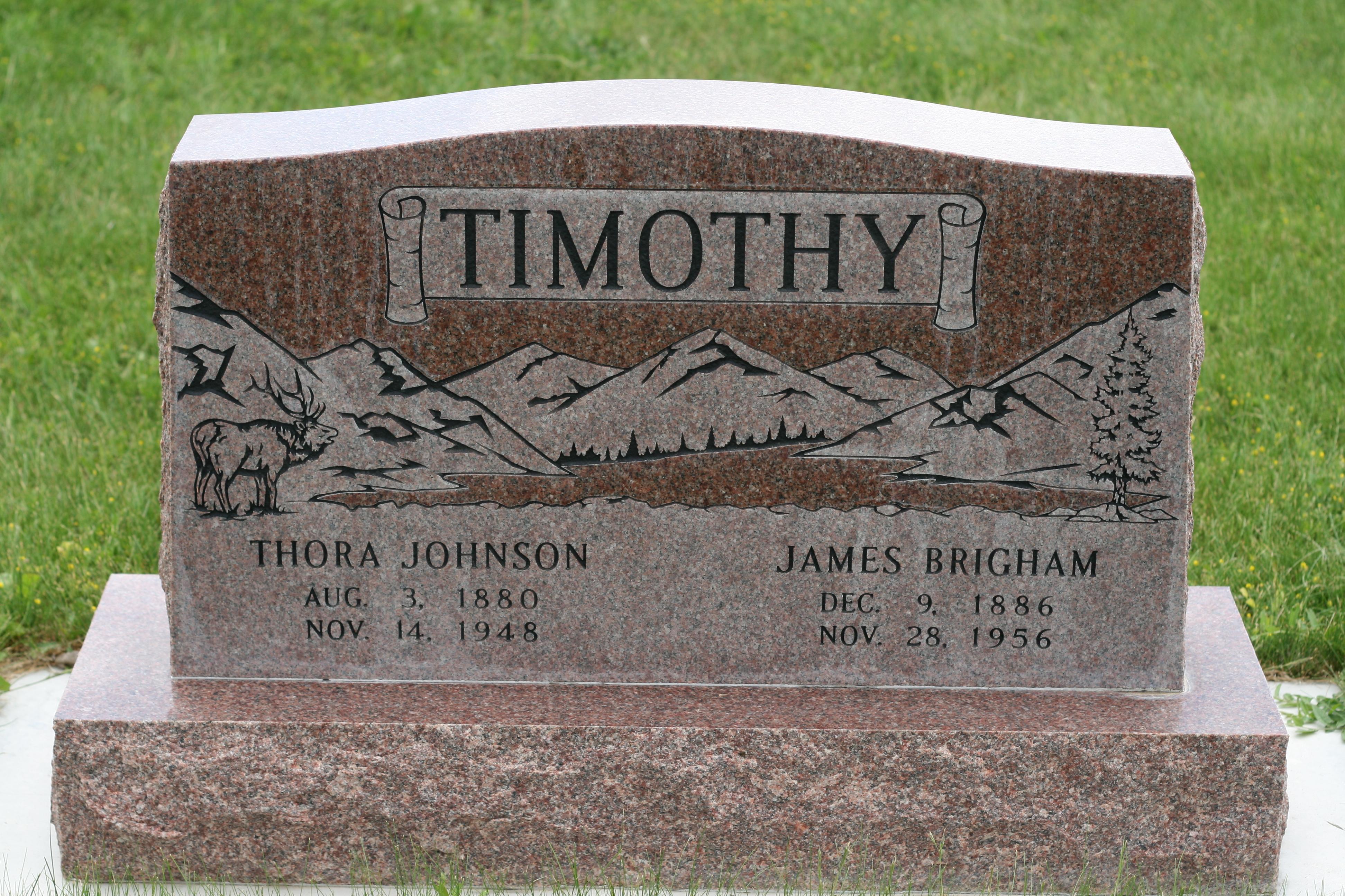 Thora <i>Johnson</i> Timothy