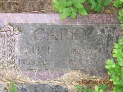 Cynthia Alice <i>McBride</i> Carey
