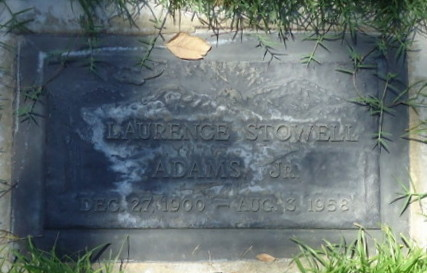 Laurence Stowell Adams, Jr