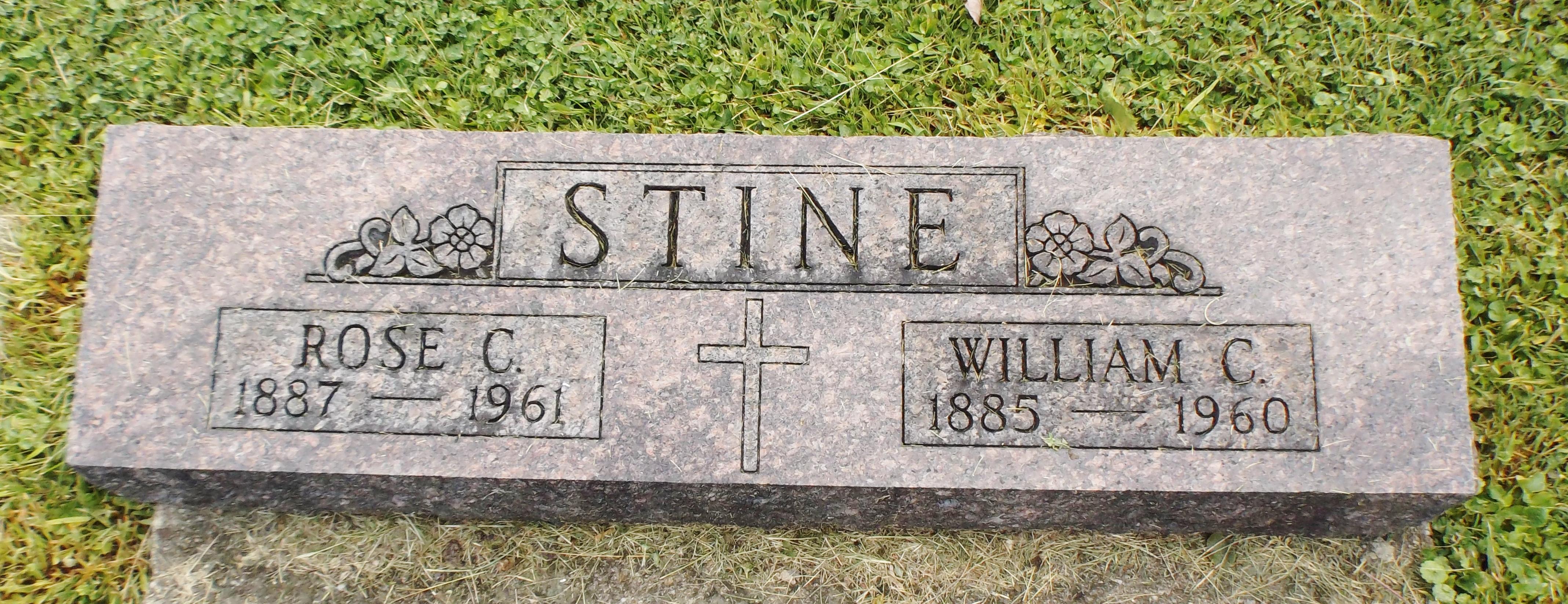 Rose C. <i>Metzger</i> Stine