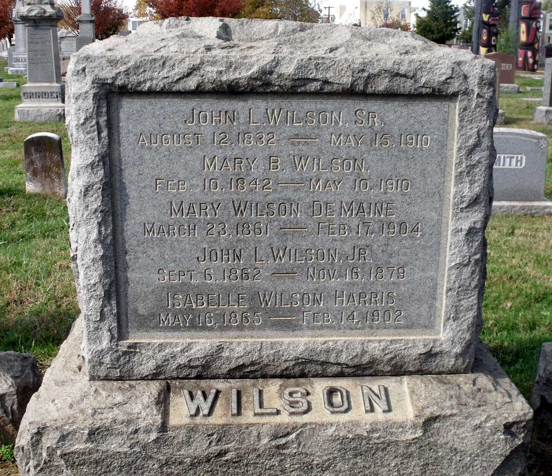 Mary <i>Wilson</i> DeMaine
