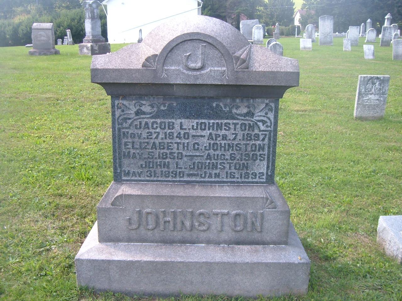 Elizabeth C. <i>Hilfinger</i> Johnston