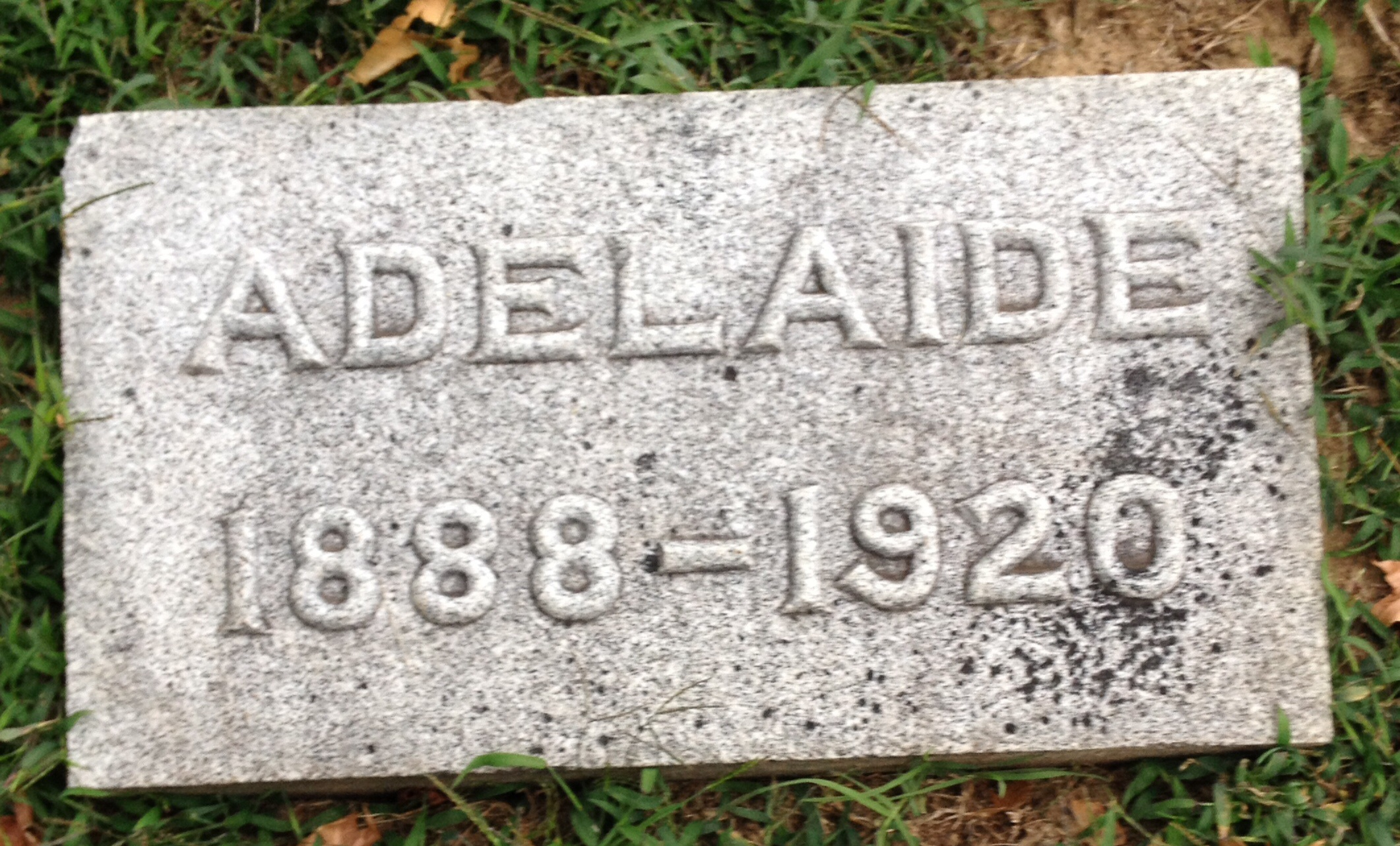 Adelaide B <i>Brandenberger</i> Bedford