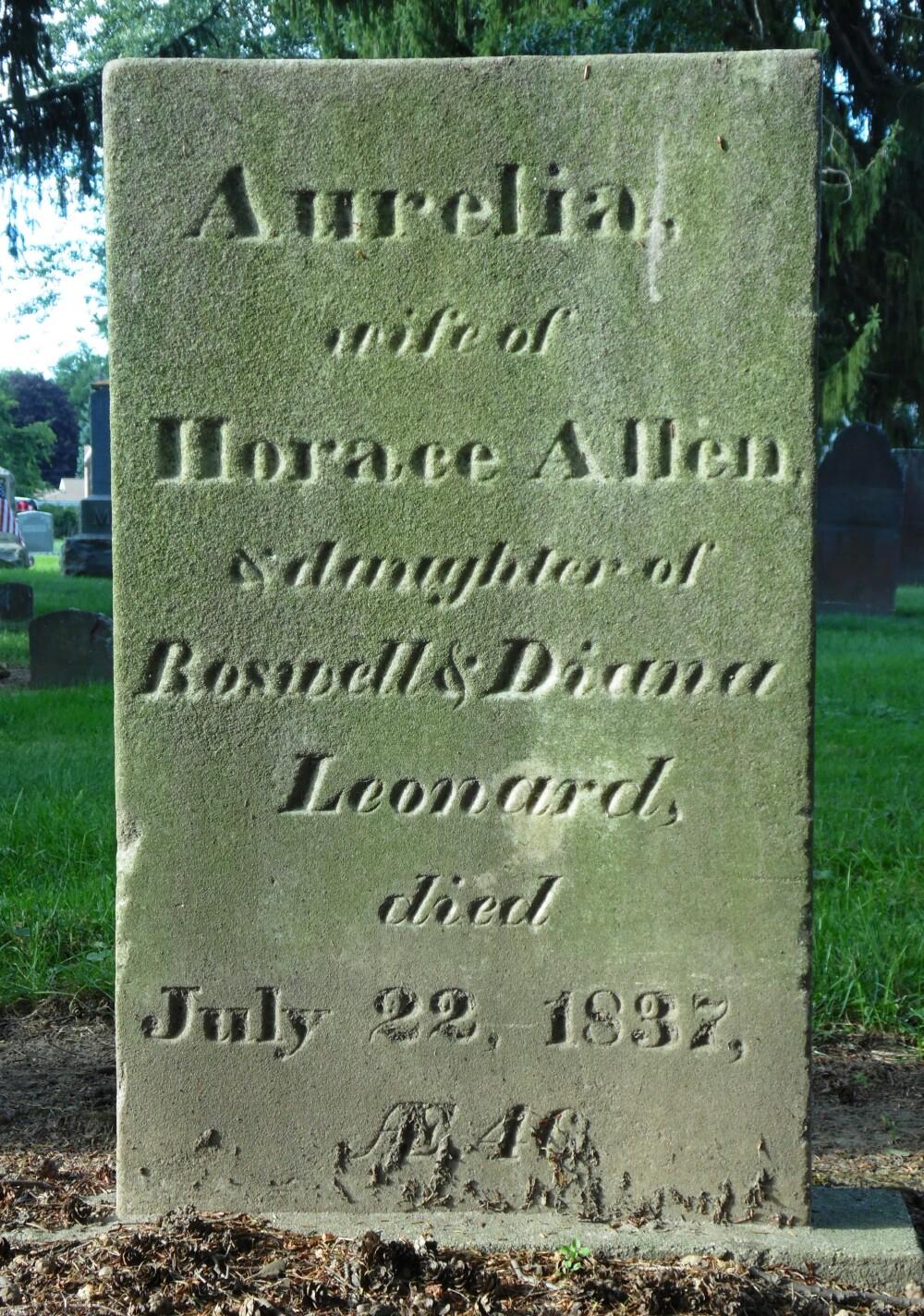 Aurelia <i>Leonard</i> Allen