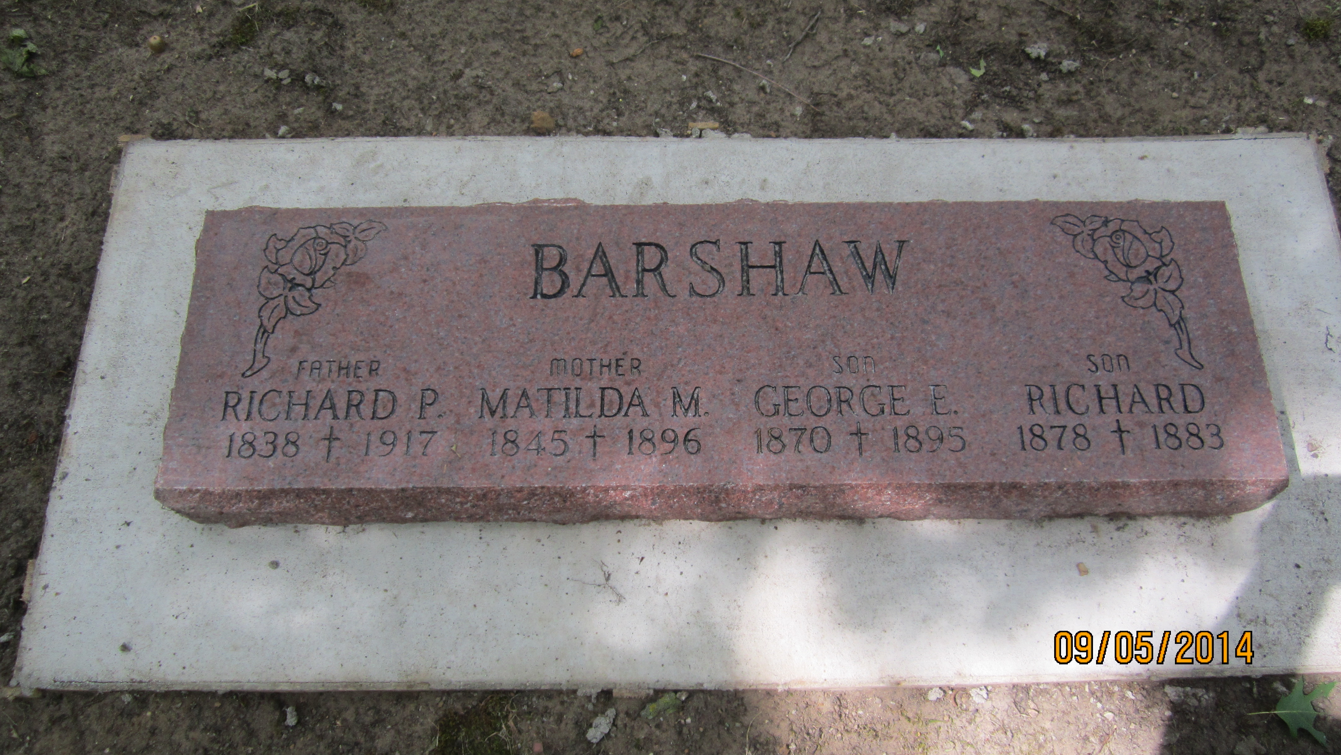 Richard Peter Bergeron Barshaw