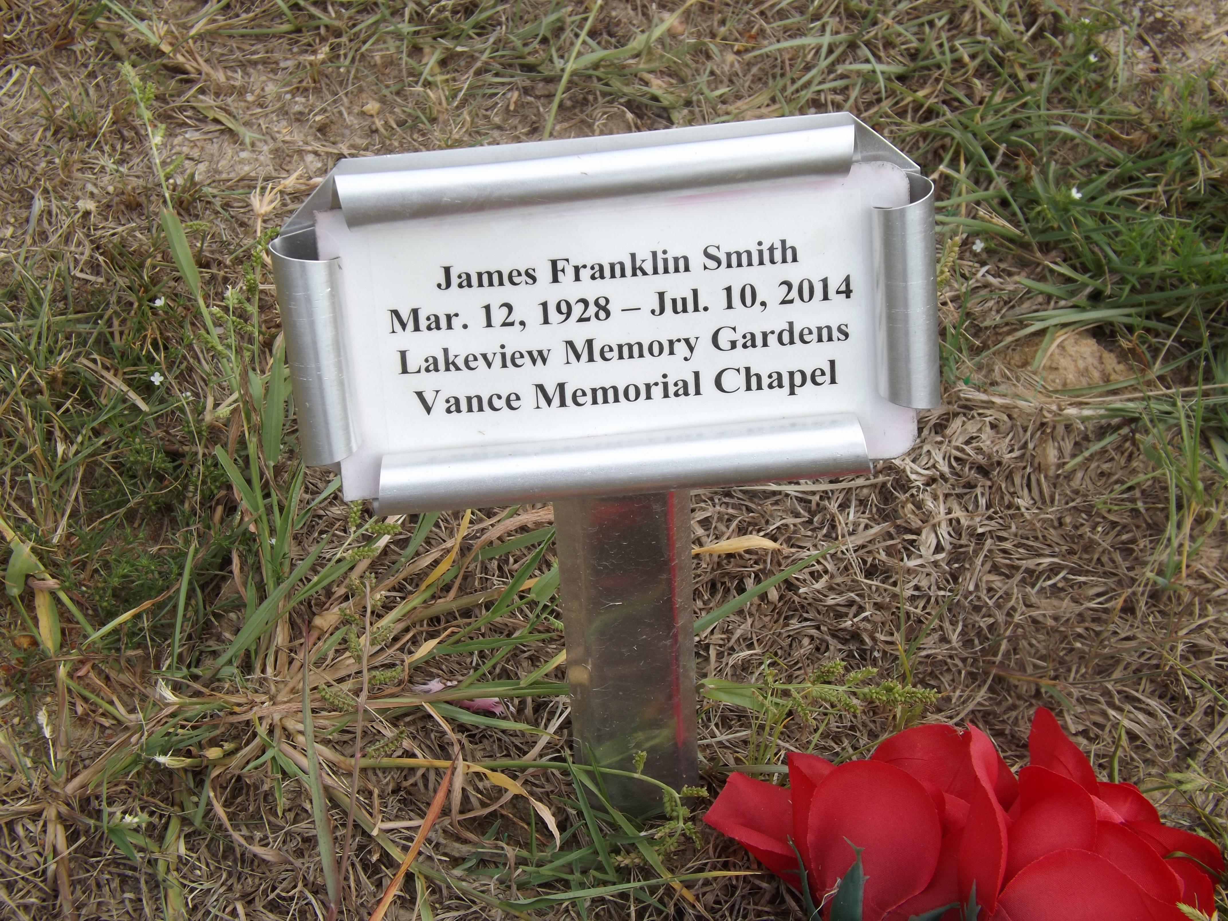 James Franklin Smith (1928-2014) - Find A Grave Memorial