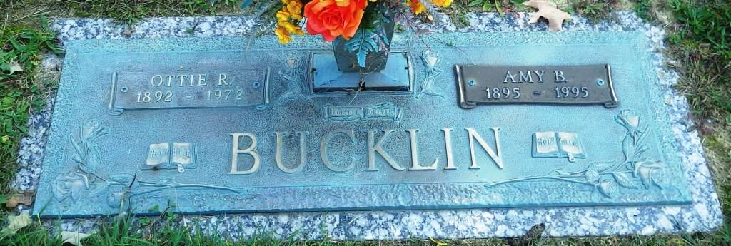 Amy <i>Bucklin</i> Brown