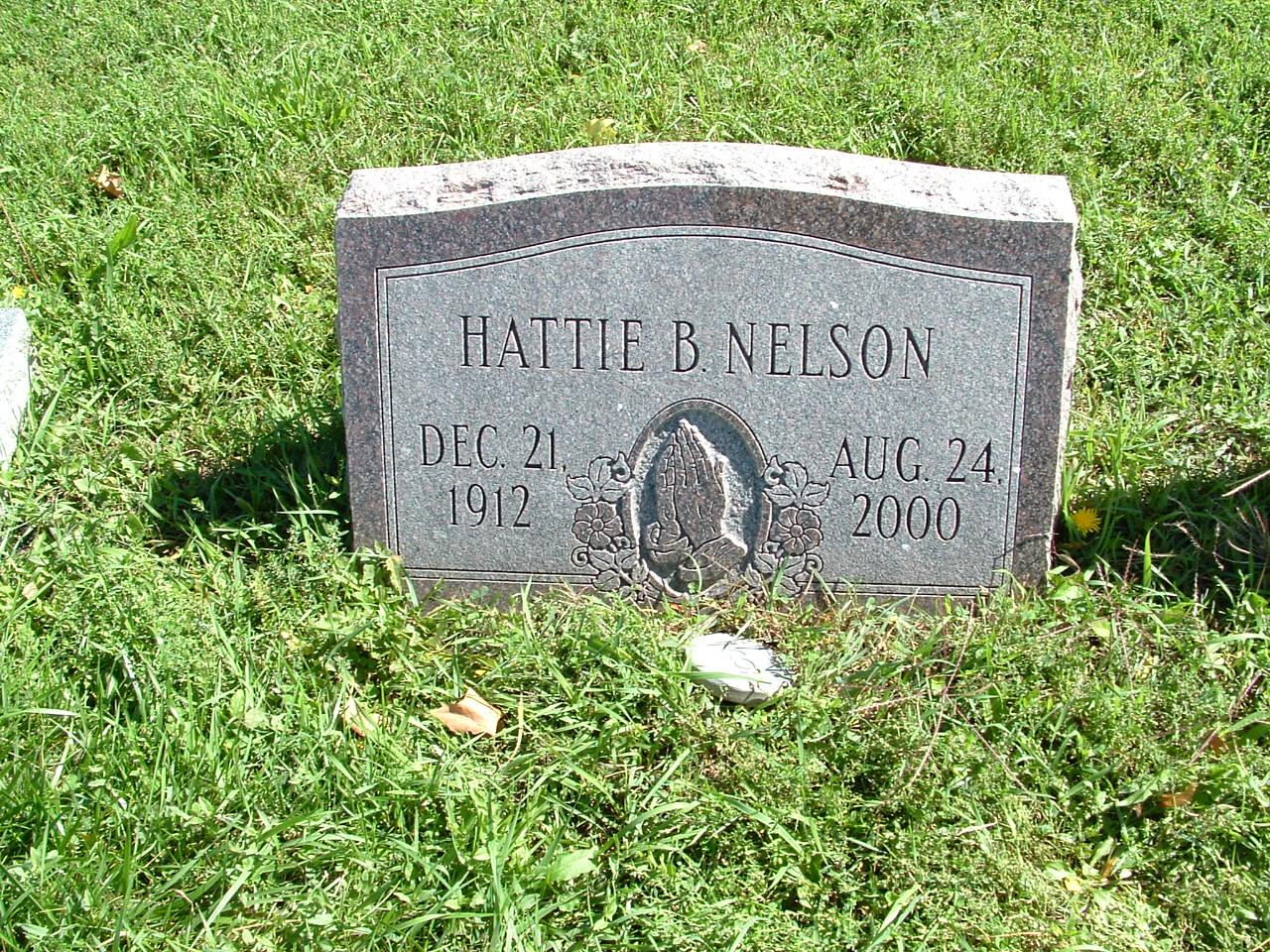 Hattie B. Nelson