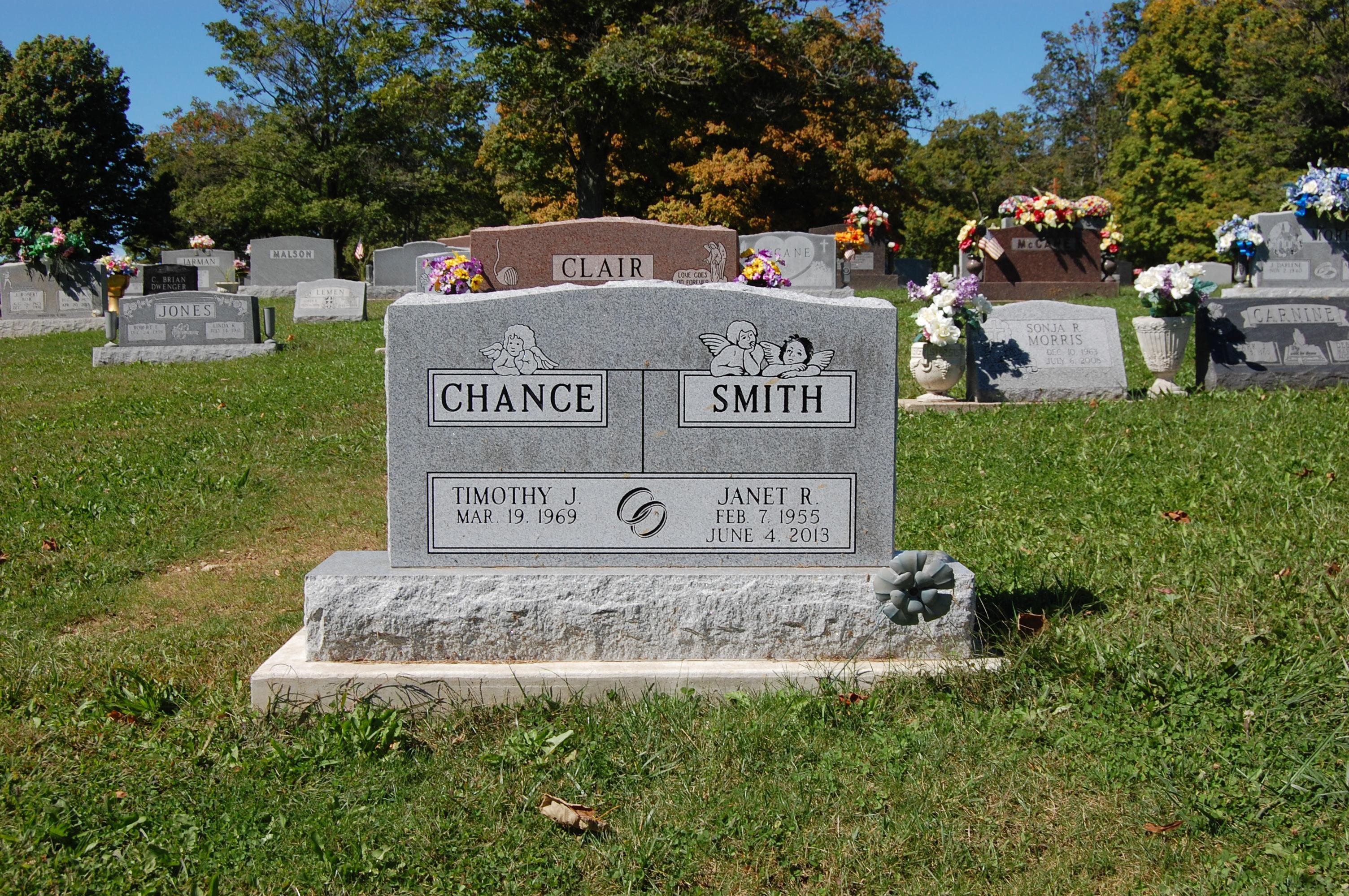 Janet Ruth <i>Smith</i> Chance