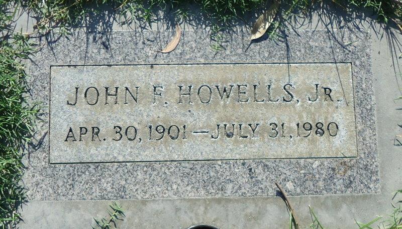 HOWELLS, John Francis