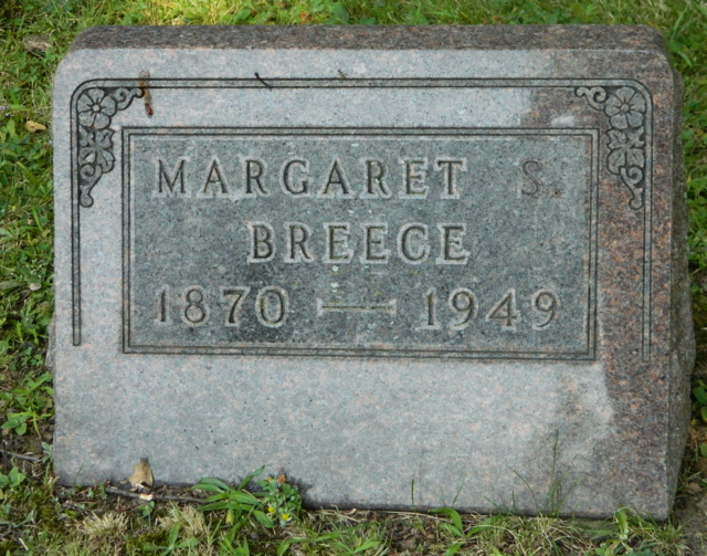 Margaret Susan <i>Lumbard</i> Breece
