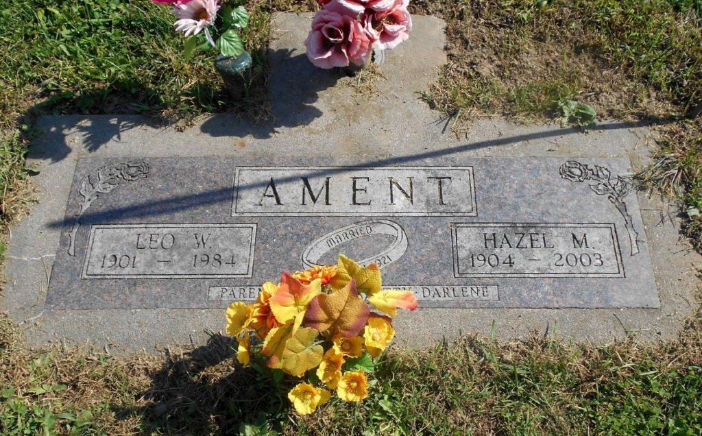 Hazel M. <i>Linville</i> Ament
