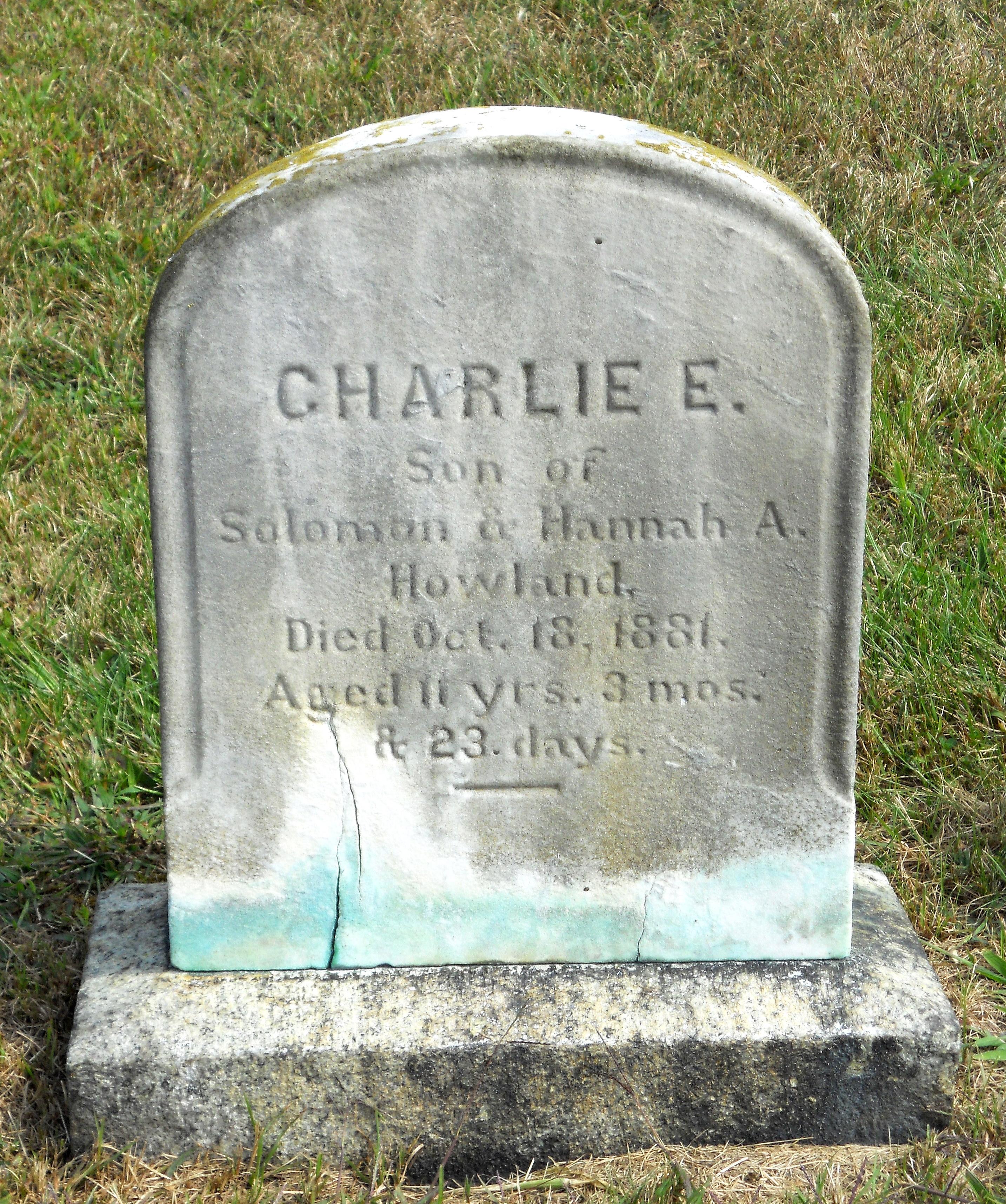 Charlie E. Howland