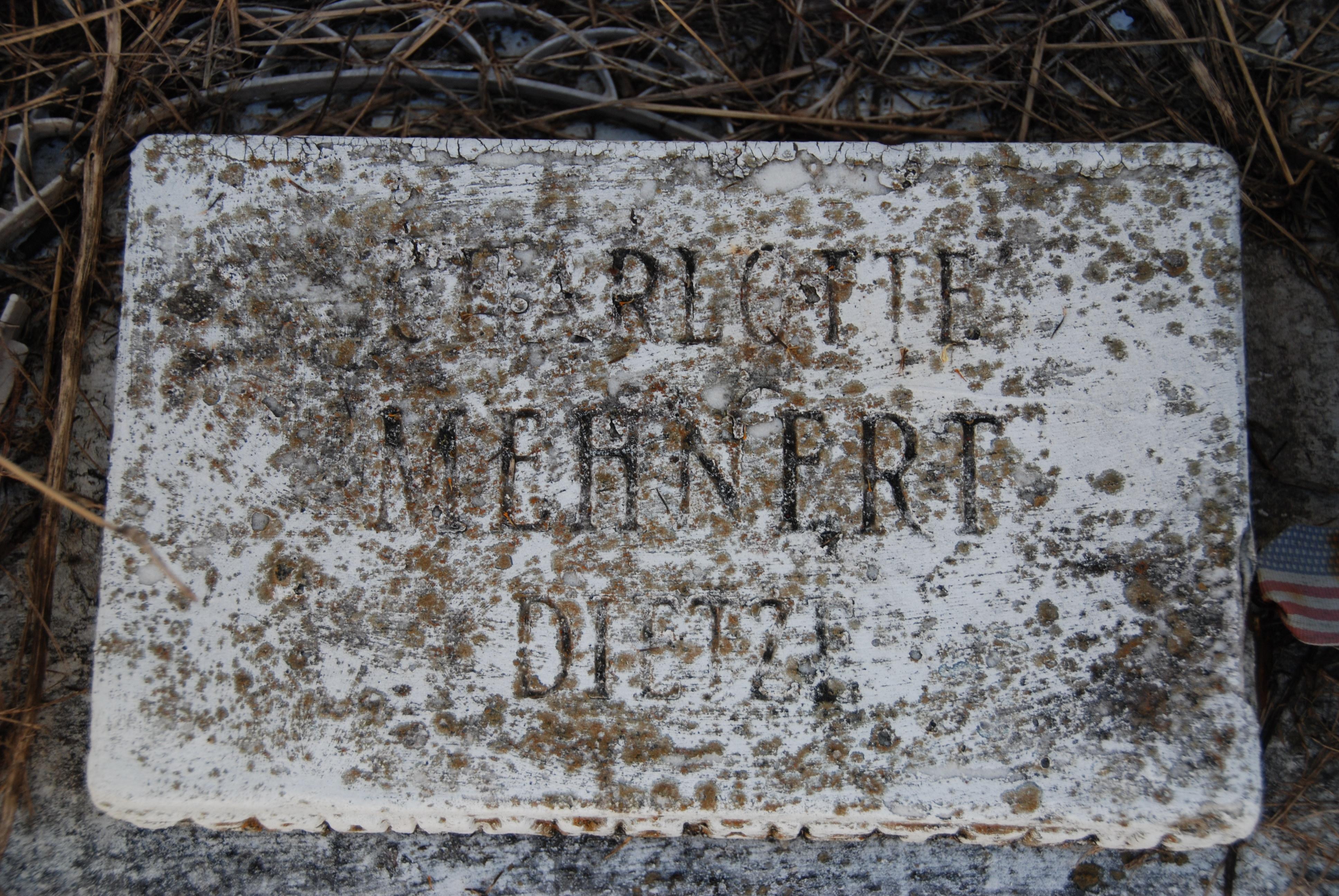 Charlotte <i>Mehnert</i> Dietze