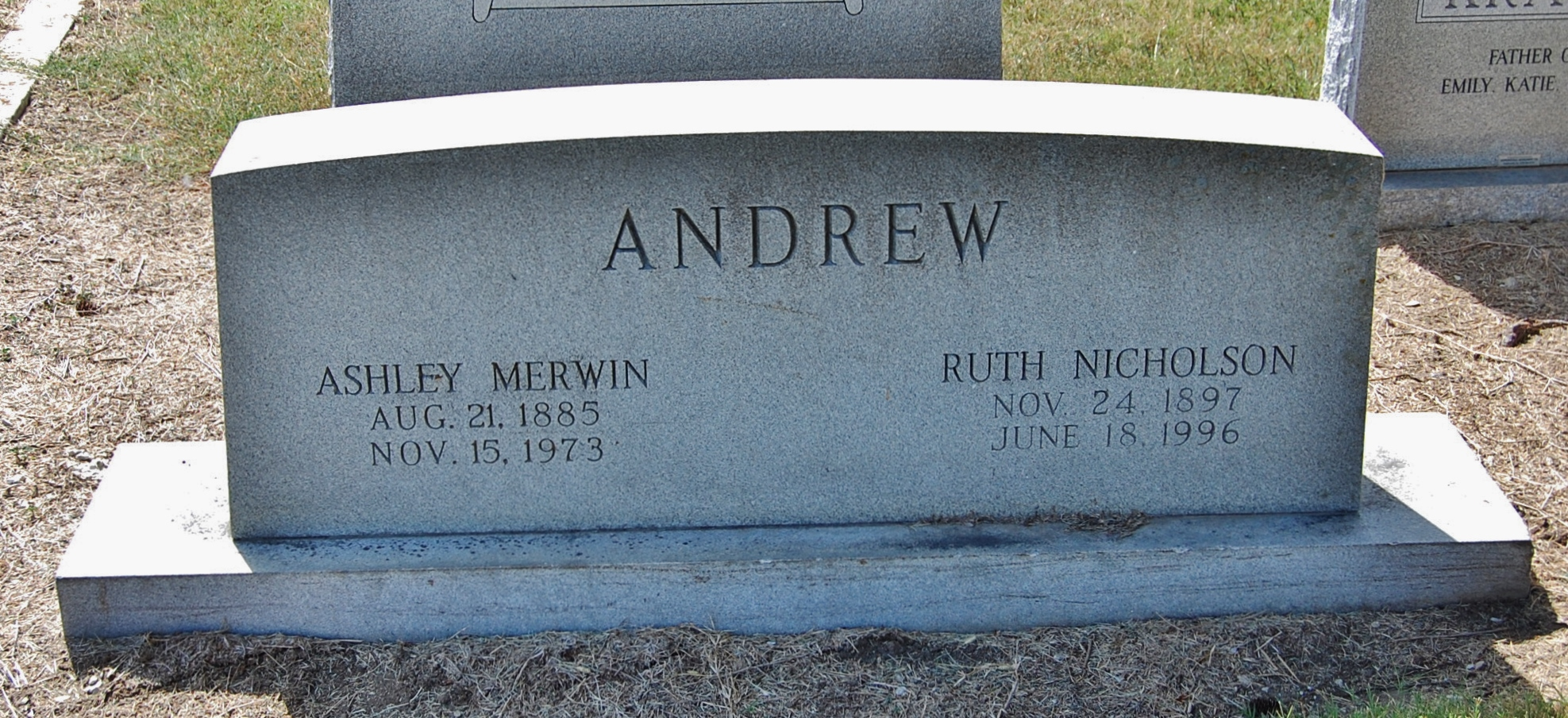 Ashley <i>Merwin</i> Andrew