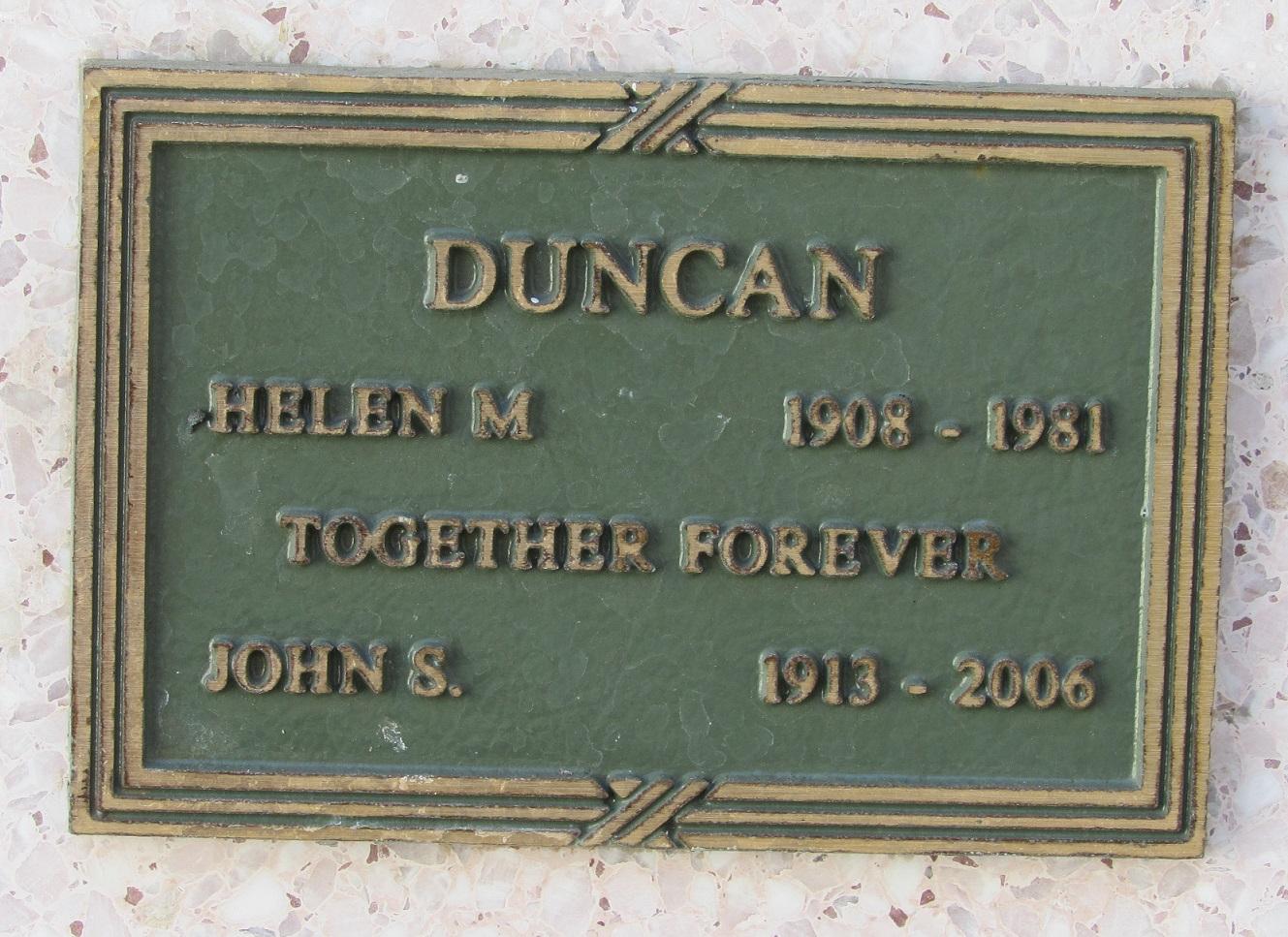 Helen <i>Martin</i> Duncan