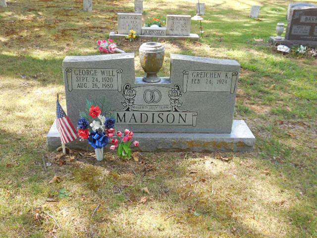 George Will (William) Madison