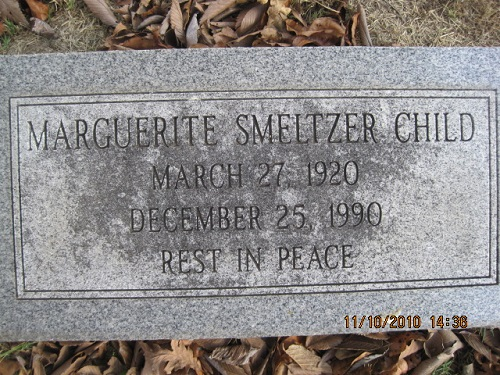 Margueriteil <i>Smeltzer</i> Child