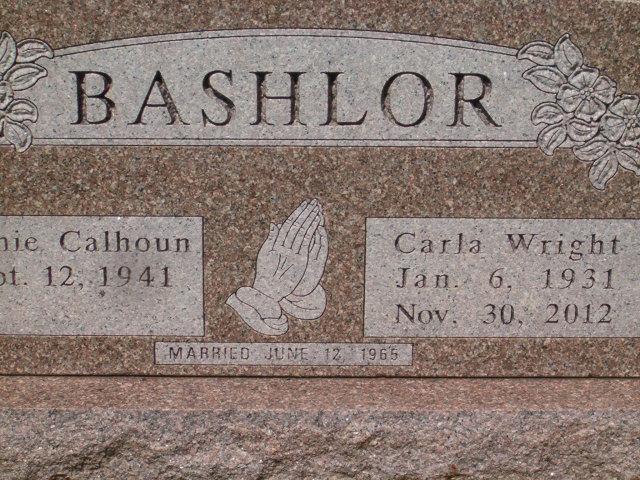Carla Jean <i>Wright</i> Bashlor