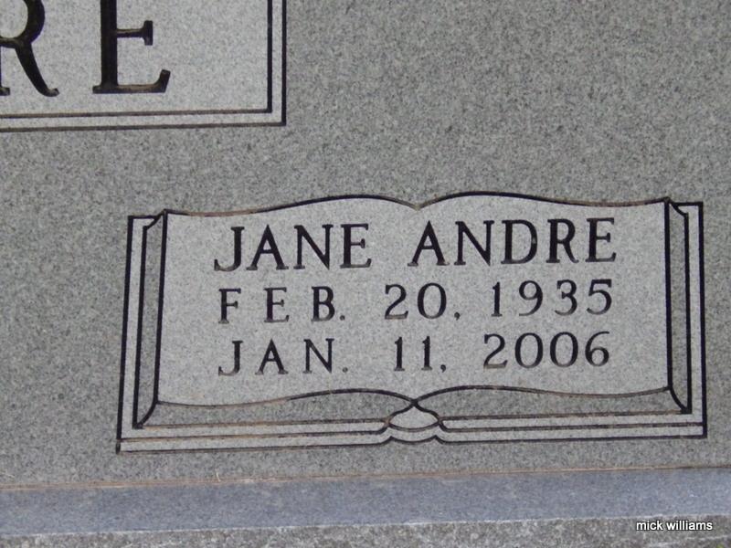 Jane <i>Taylor</i> Andre