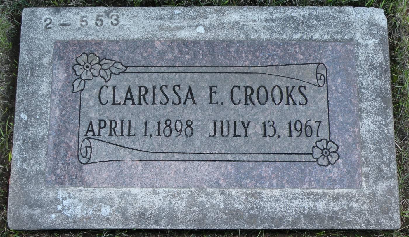 Clarissa Emaline <i>Hughes</i> Crooks