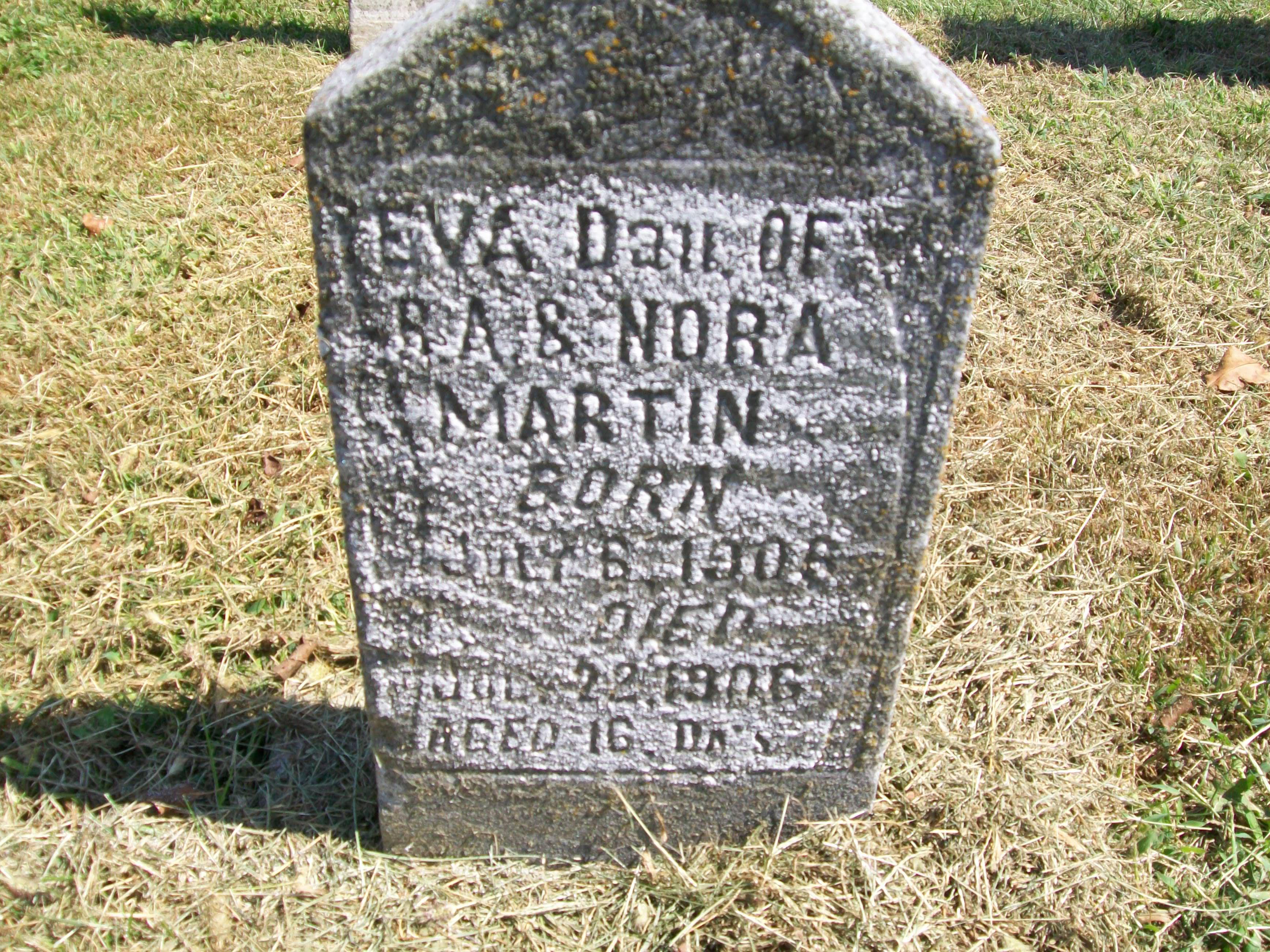 Baby Eva Martin