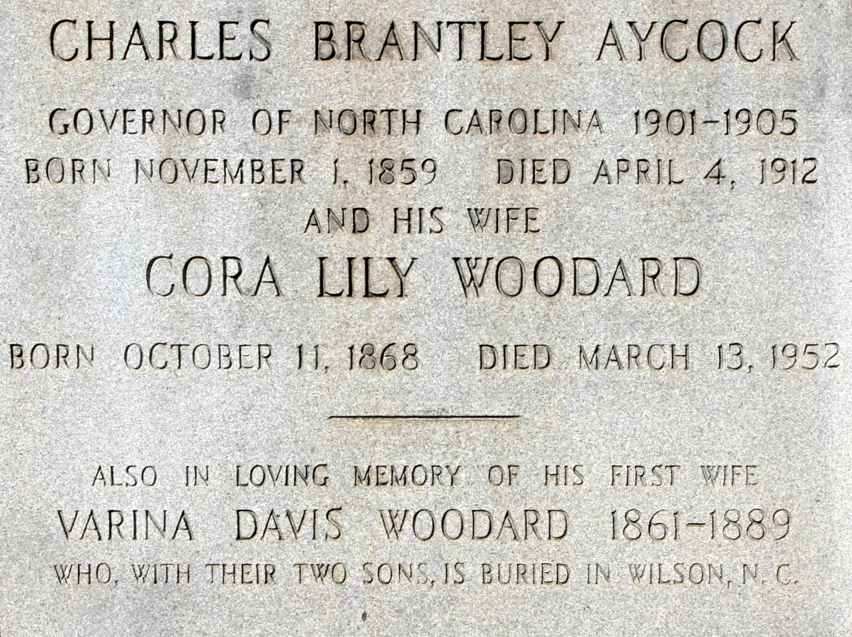 Charles Brantley Aycock
