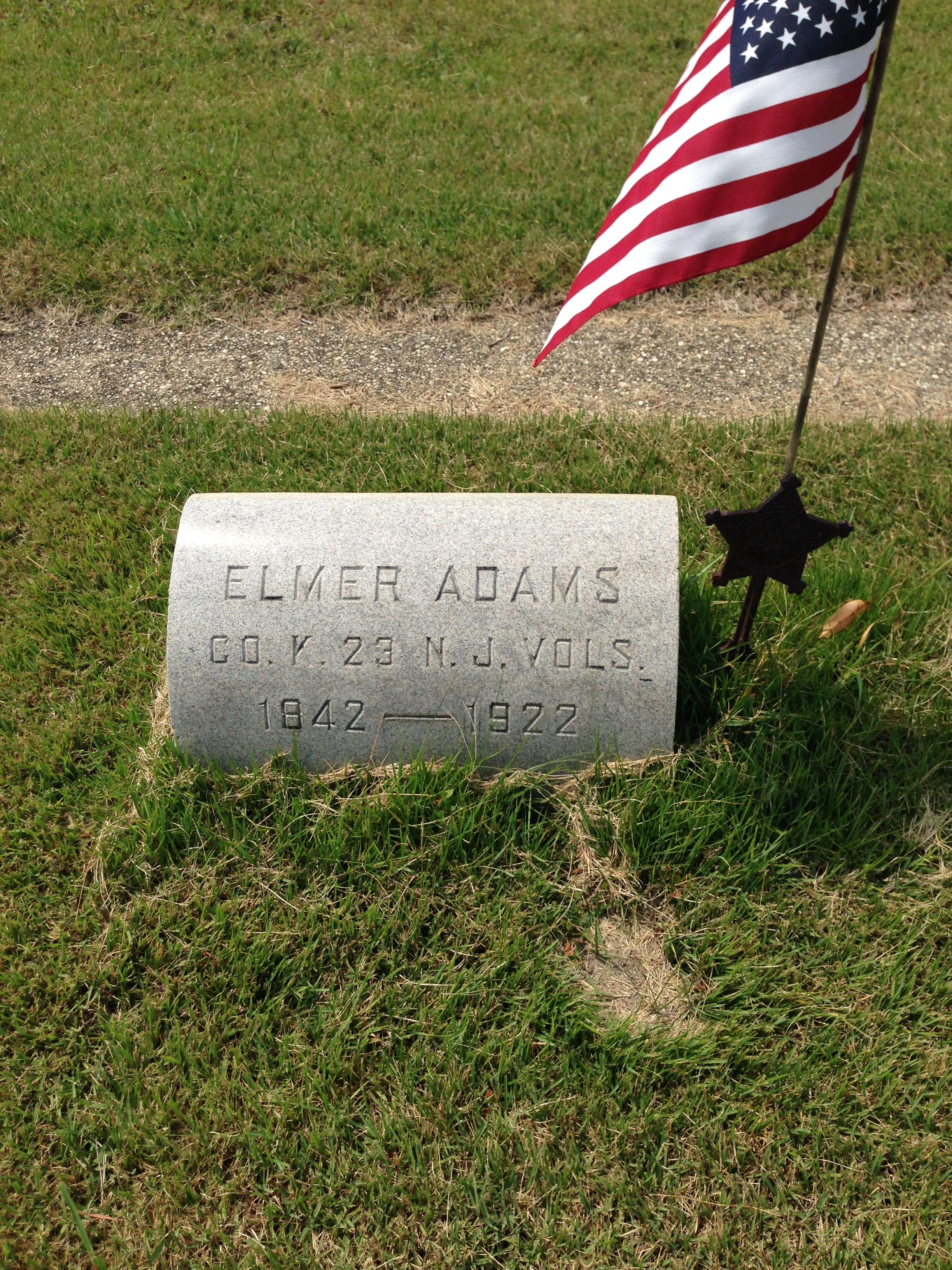 Corp Elmer Adams