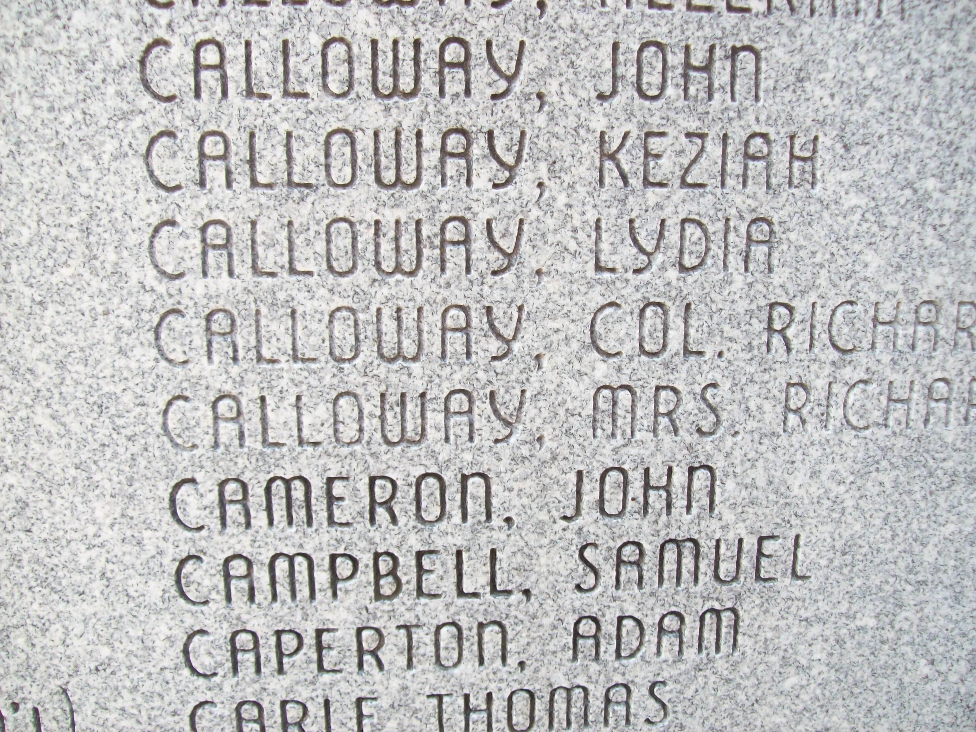Col Richard Callaway