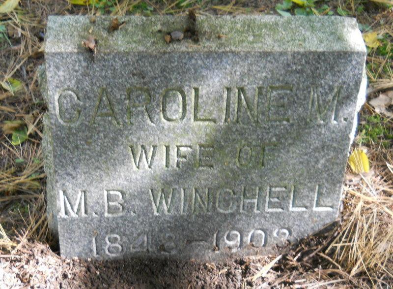Caroline M. <i>Moffat</i> Winchell