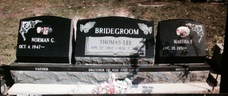 Martha And Norman Bridegroom