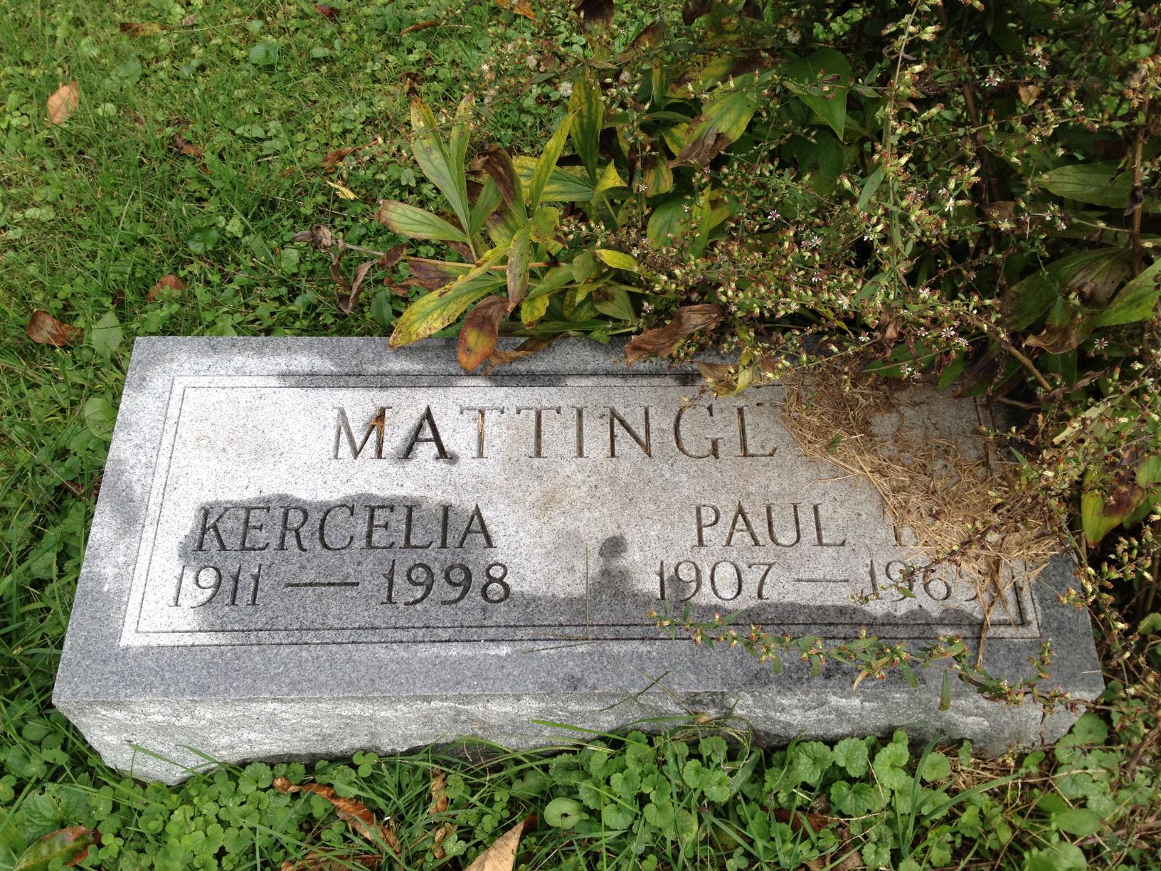 Kercelia Margaret <i>Mayfield</i> Mattingly