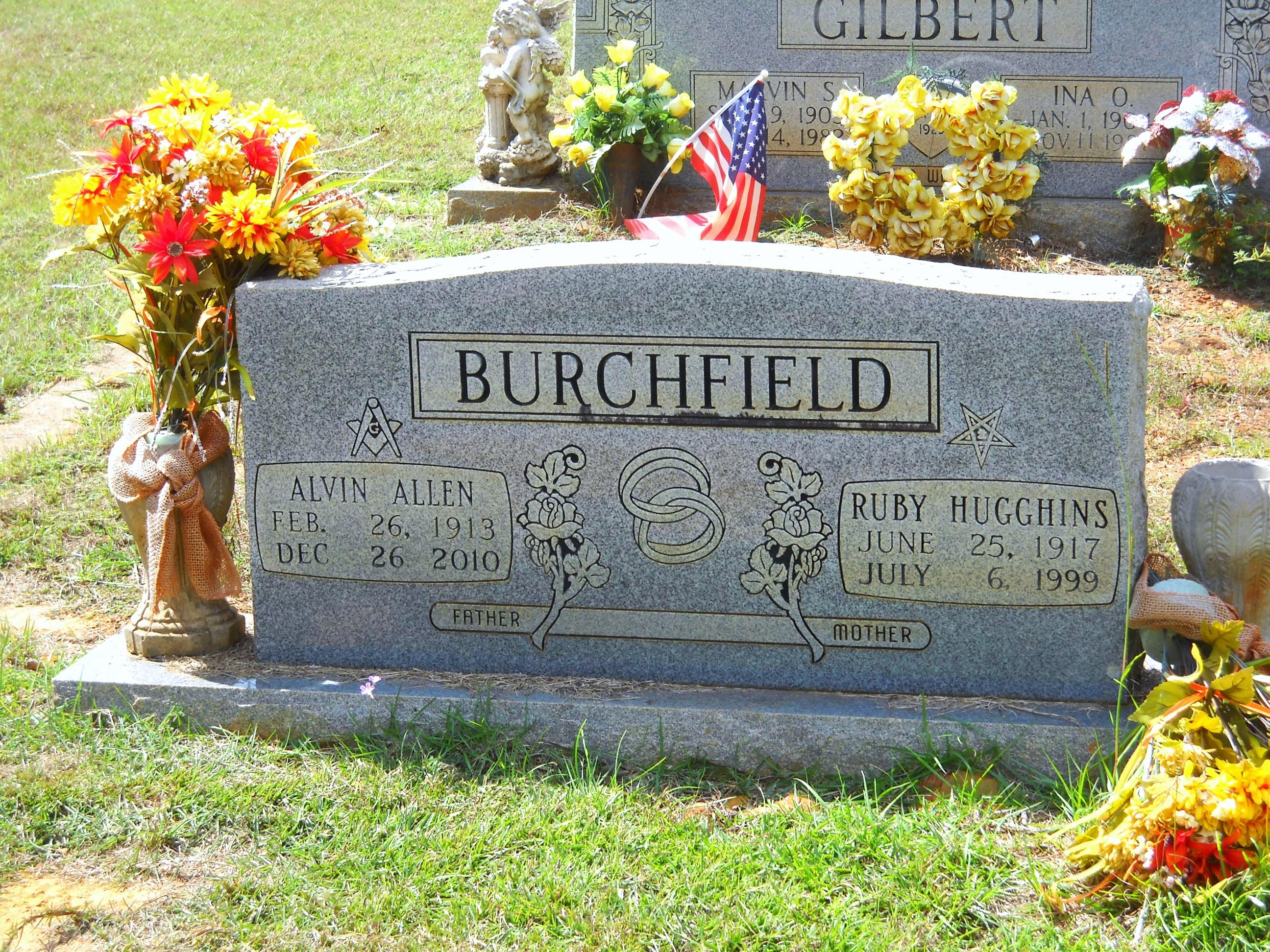 Ruby <i>Hugghins</i> Burchfield