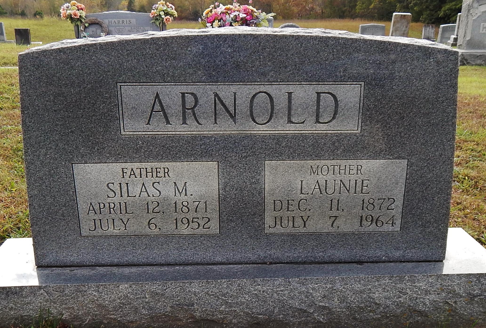 Launie <i>Regor</i> Arnold