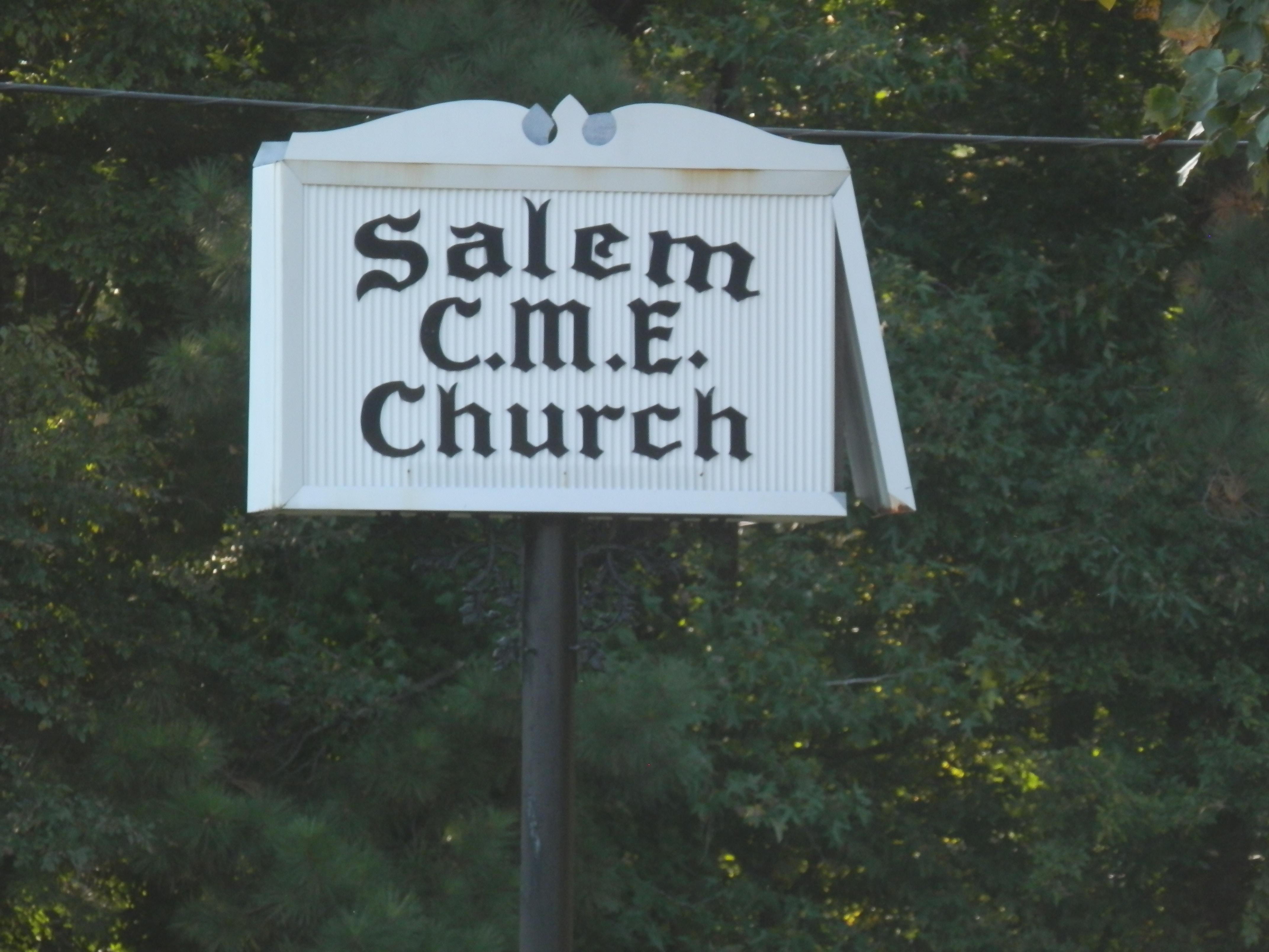 Salem C. M. E. Church Cemetery