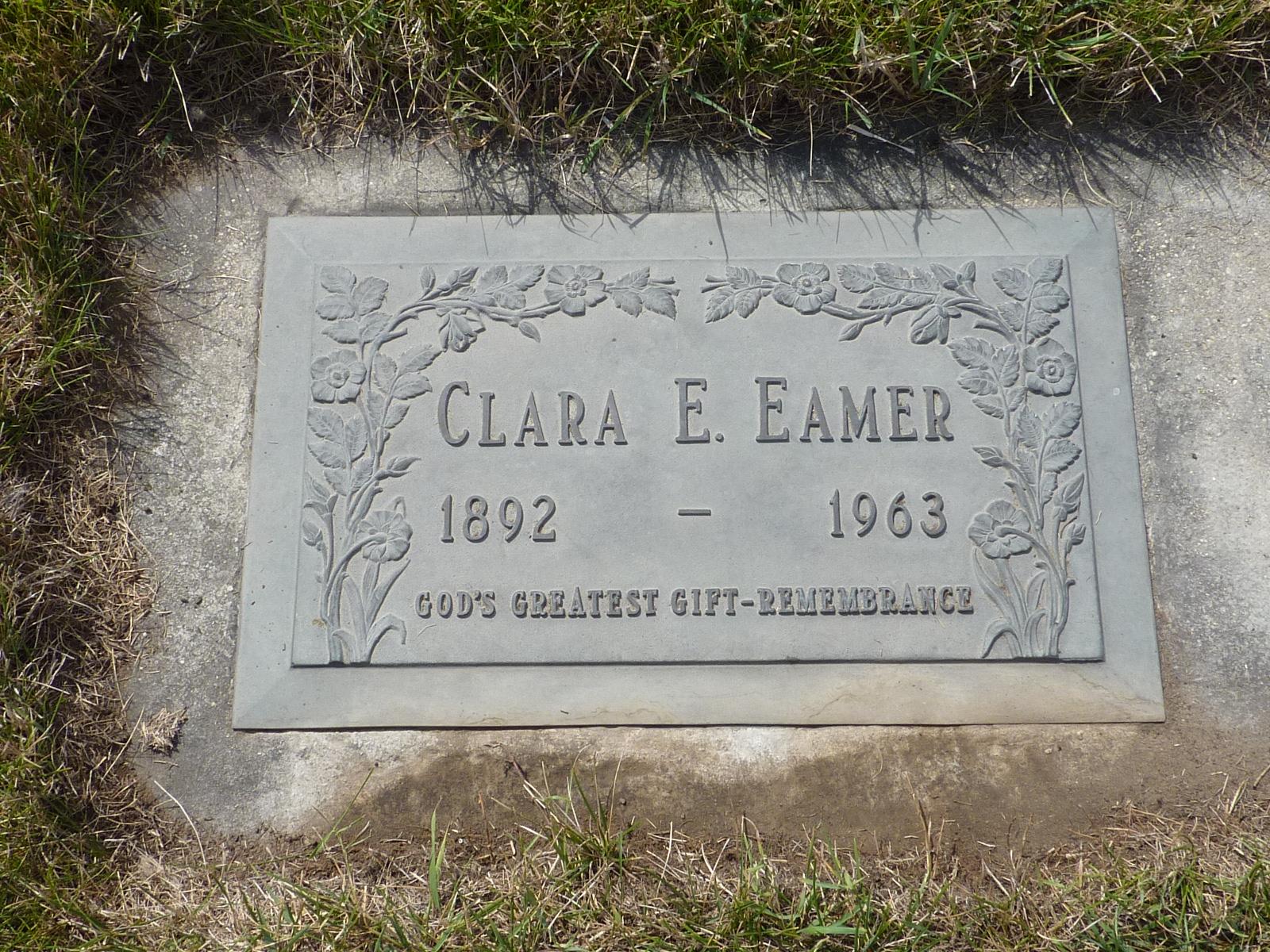Clara Elizabeth <i>Cuffe Rusaw</i> Eamer