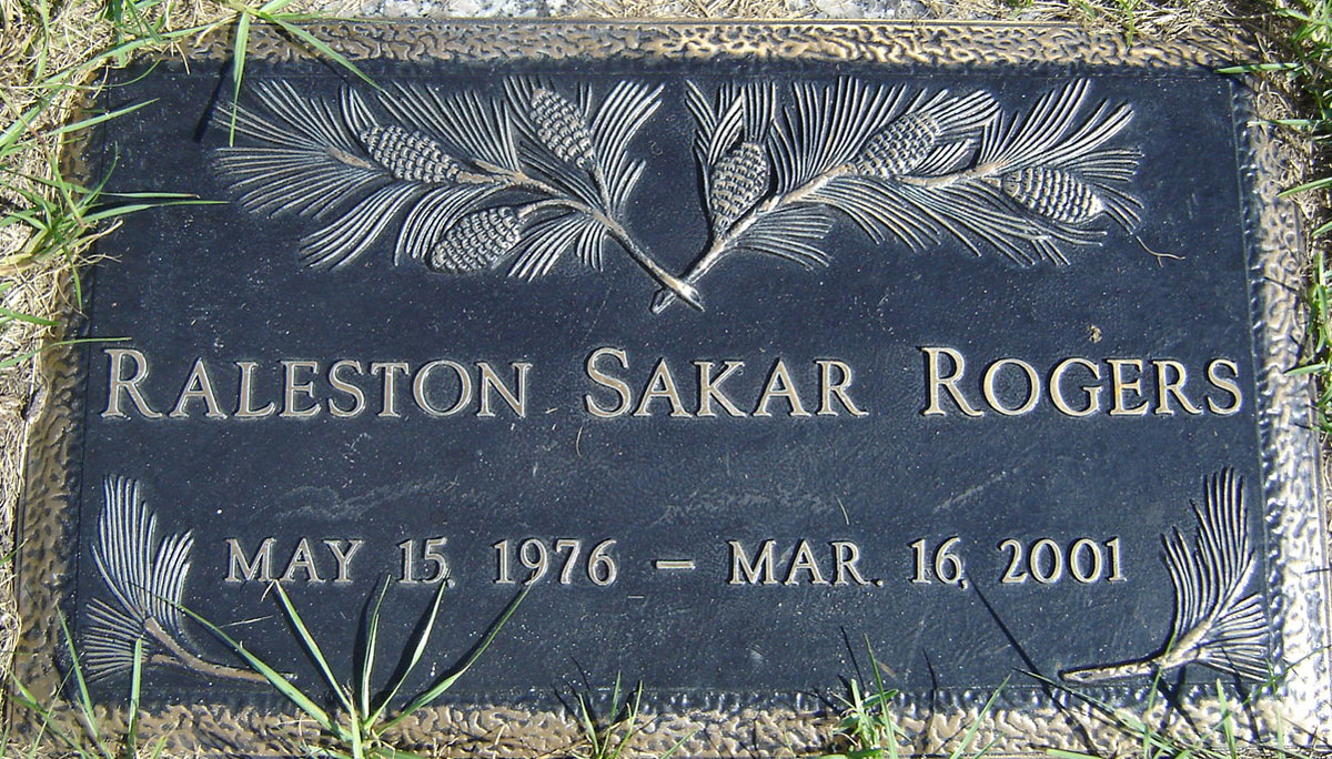 Raleston Sakar Rogers 1976 2001 Find A Grave Memorial