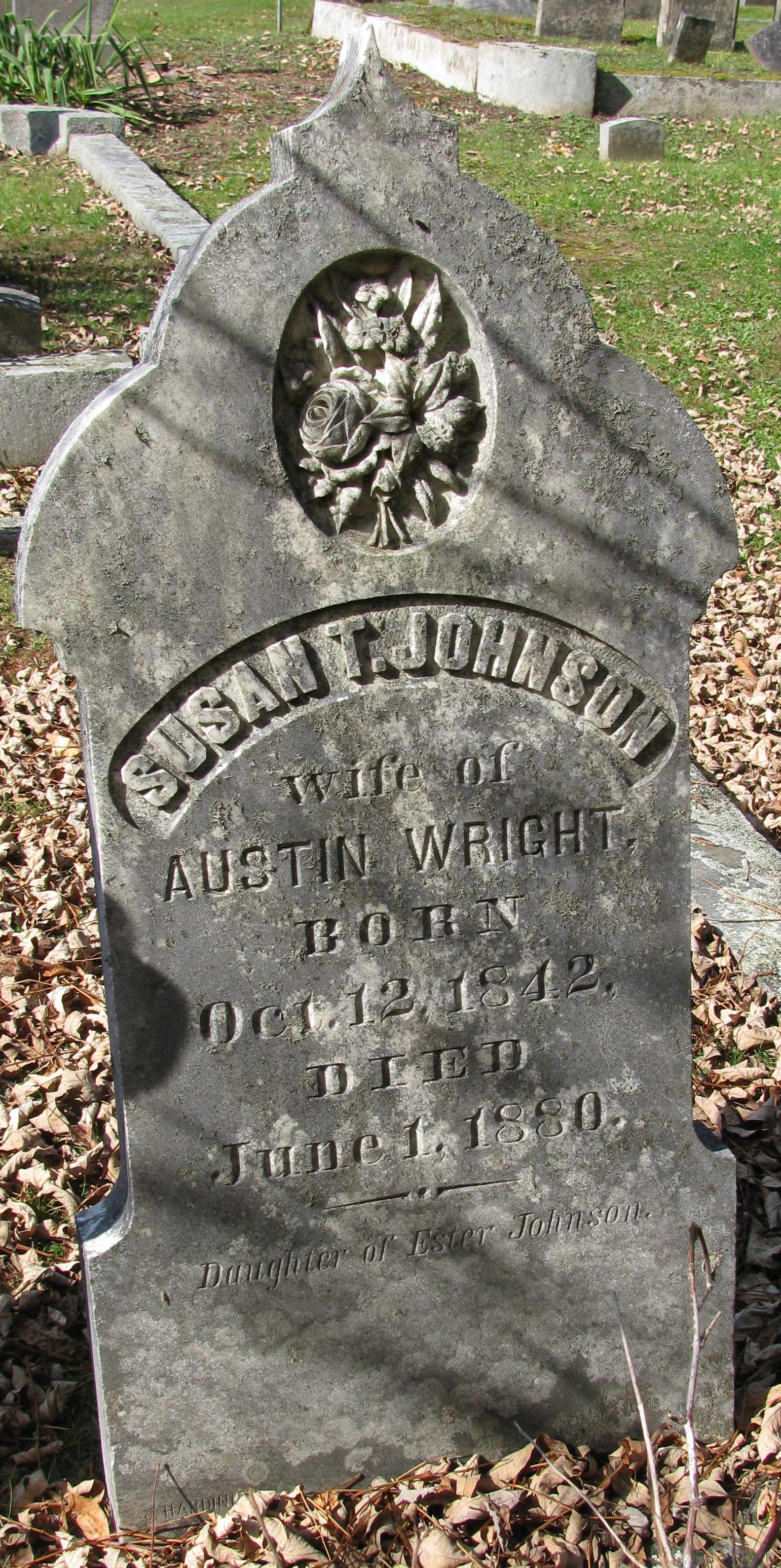 Susan Theoda <i>Johnson</i> Wright