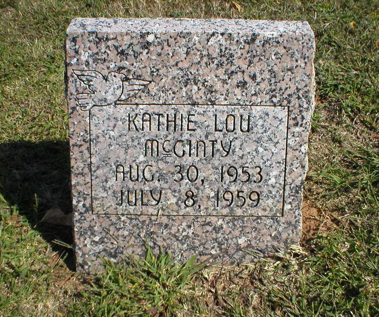 Kathie Lou McGinty