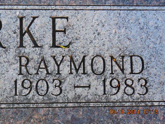 Raymond Winfield Clarke