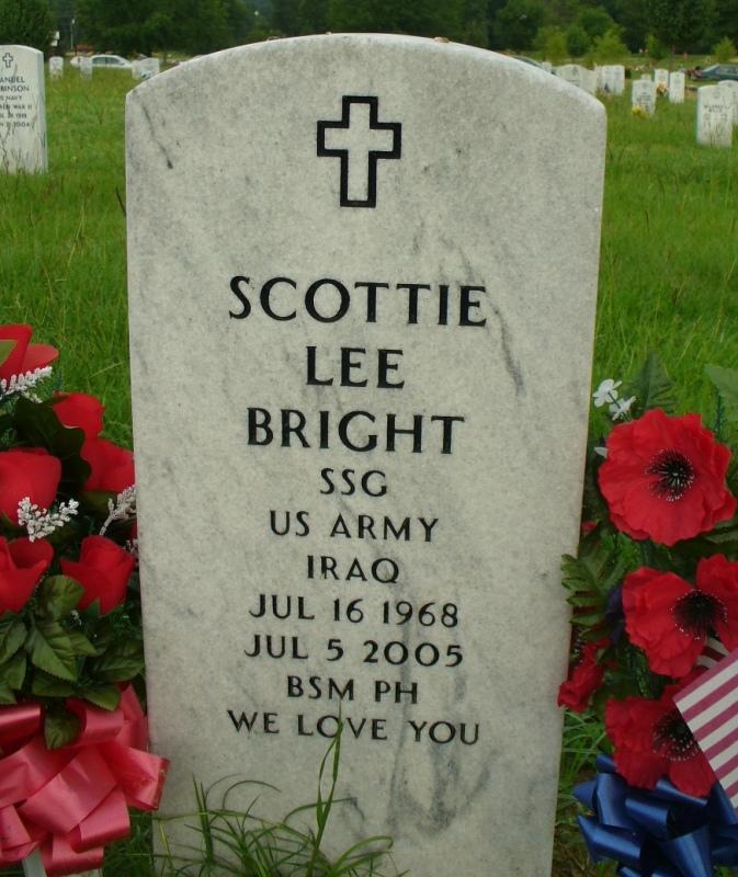 Sgt Scottie Lee Bright