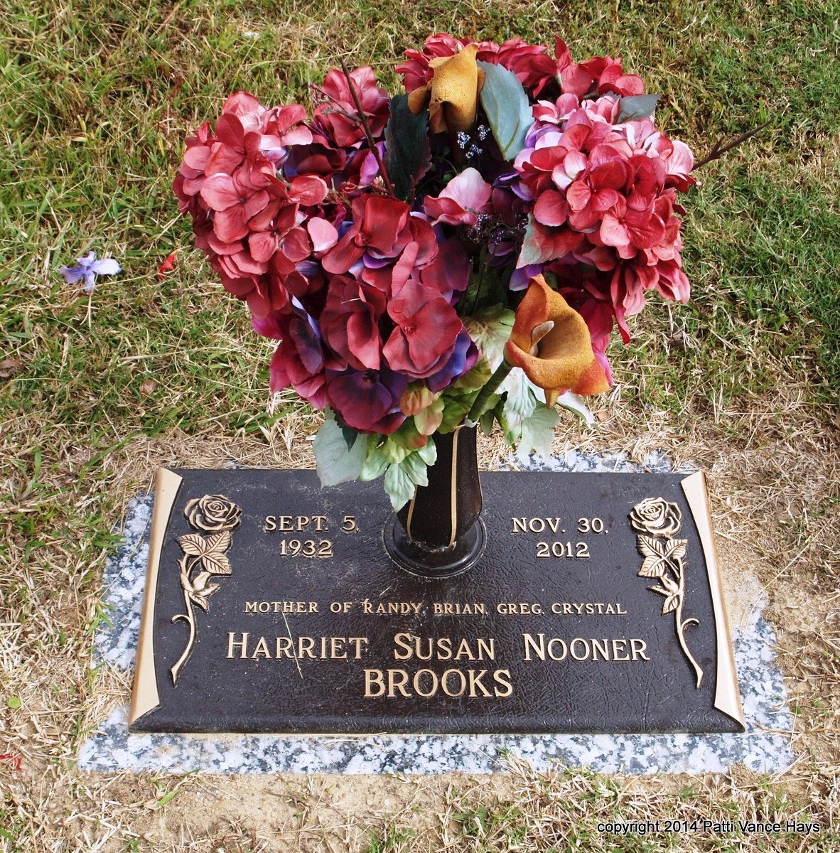 Harriet Susan Sue <i>Nooner</i> Brooks