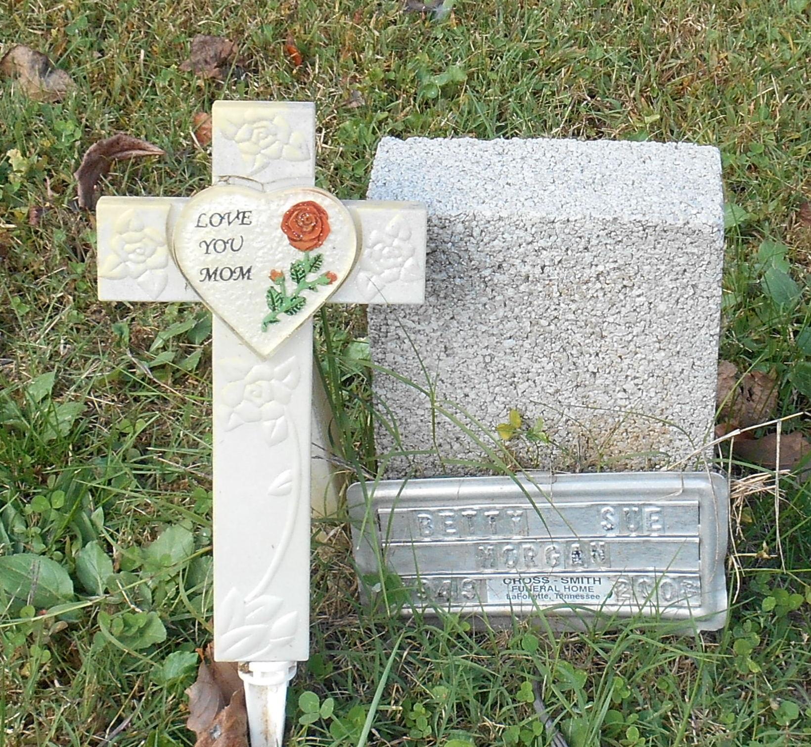 Betty Sue Morgan 1949 2008 Find A Grave Memorial