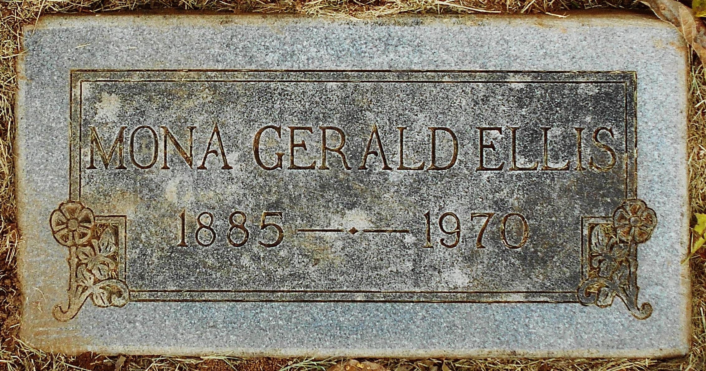 Mona <i>Gerald</i> Ellis