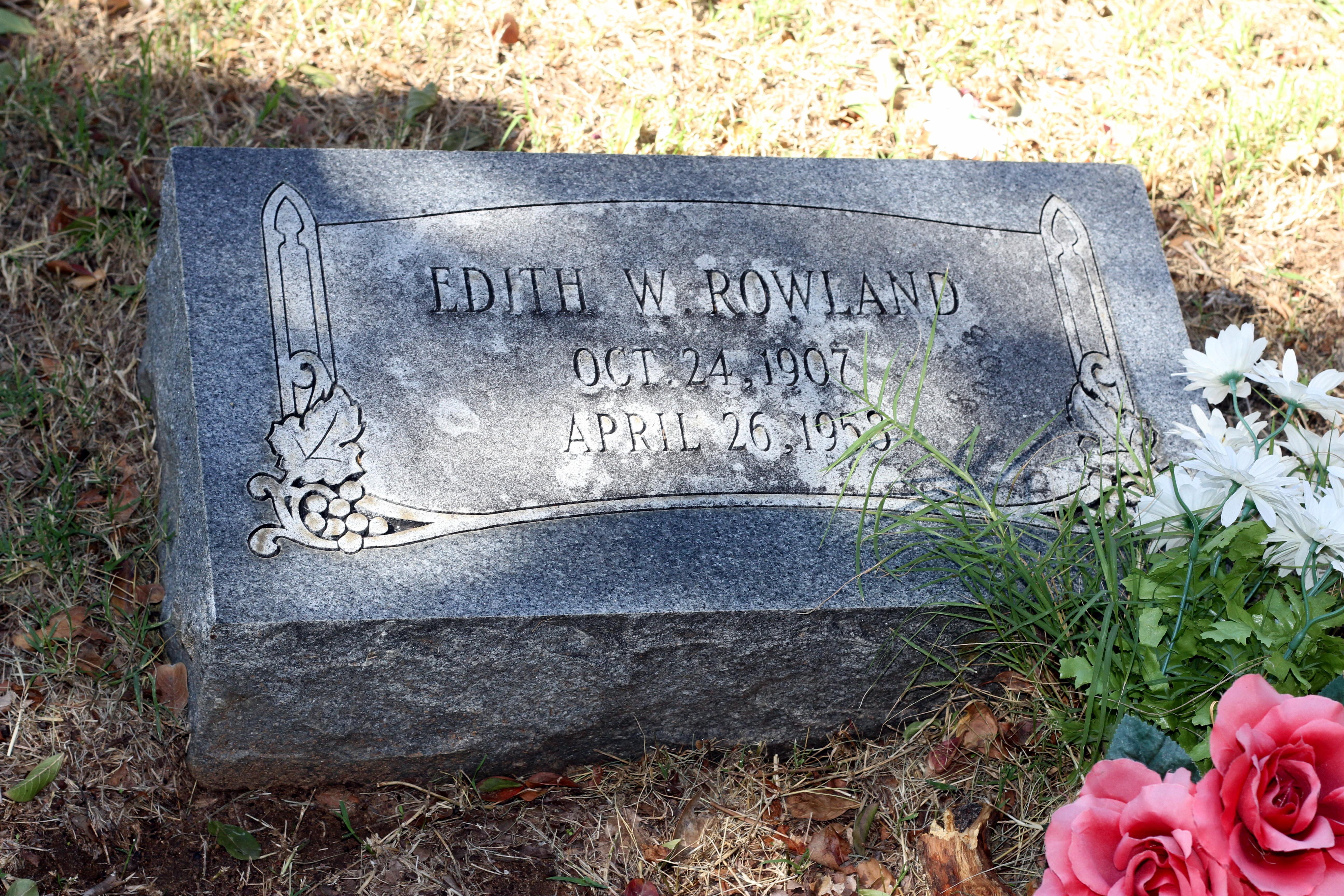 Edith Velma <i>Williams</i> Rowland