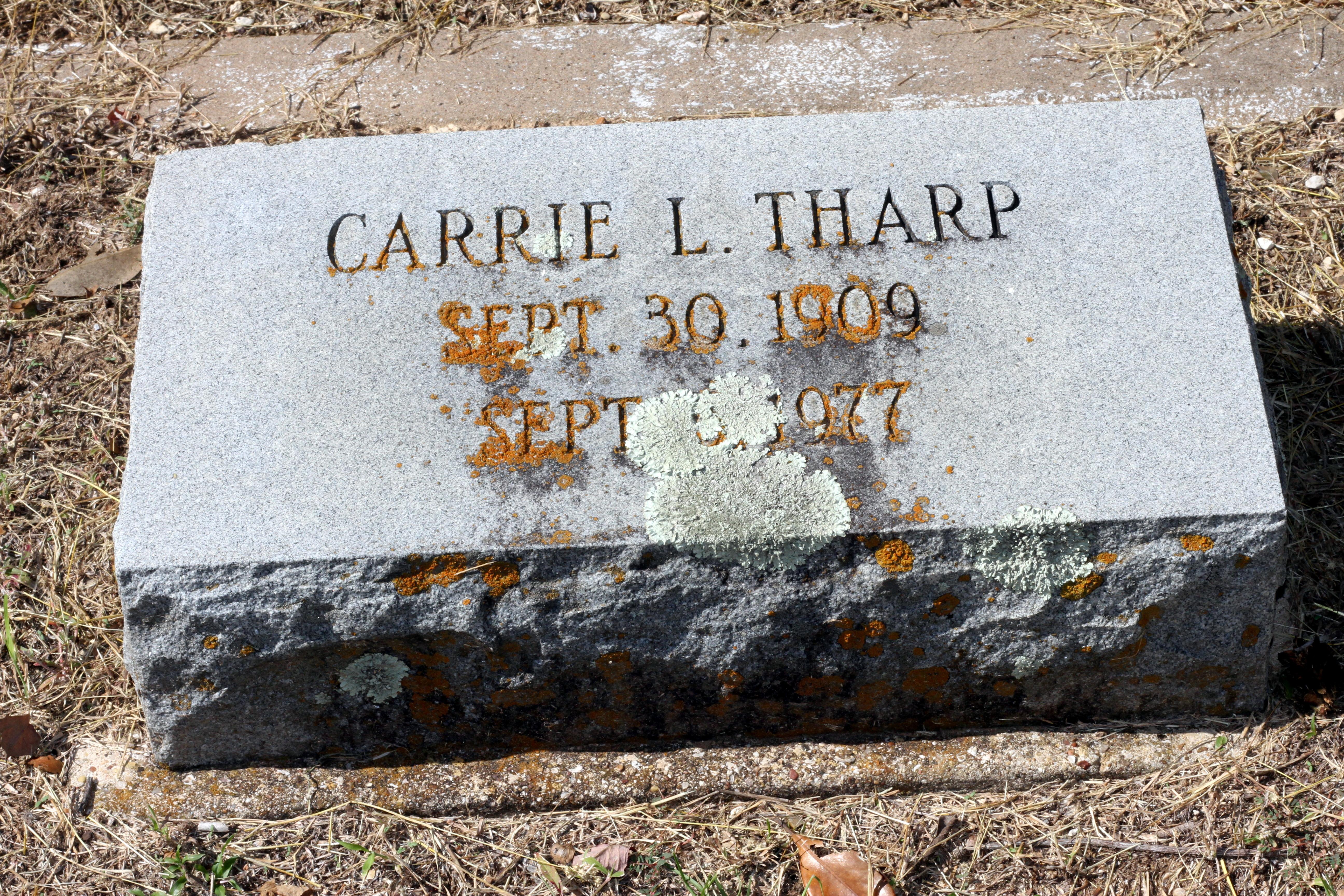 Carrie <i>Loewenstein</i> Tharp