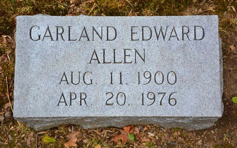 Garland Edward Allen, Jr